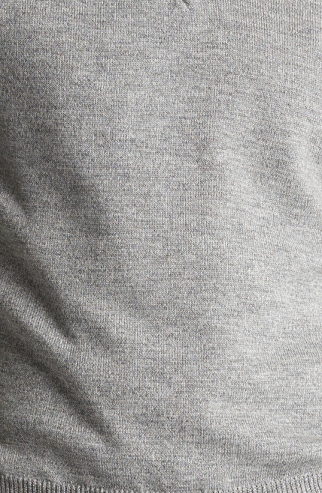 Alternate Image 3  - Todd Snyder V-Neck Merino Wool Sweater