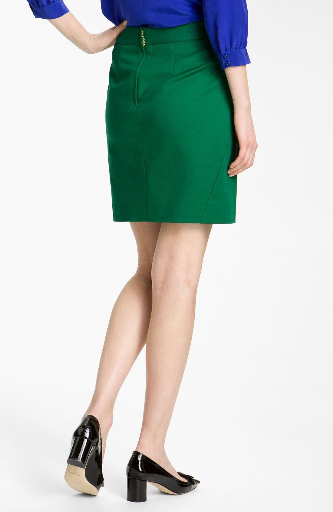 Alternate Image 2  - kate spade new york 'valentine' skirt