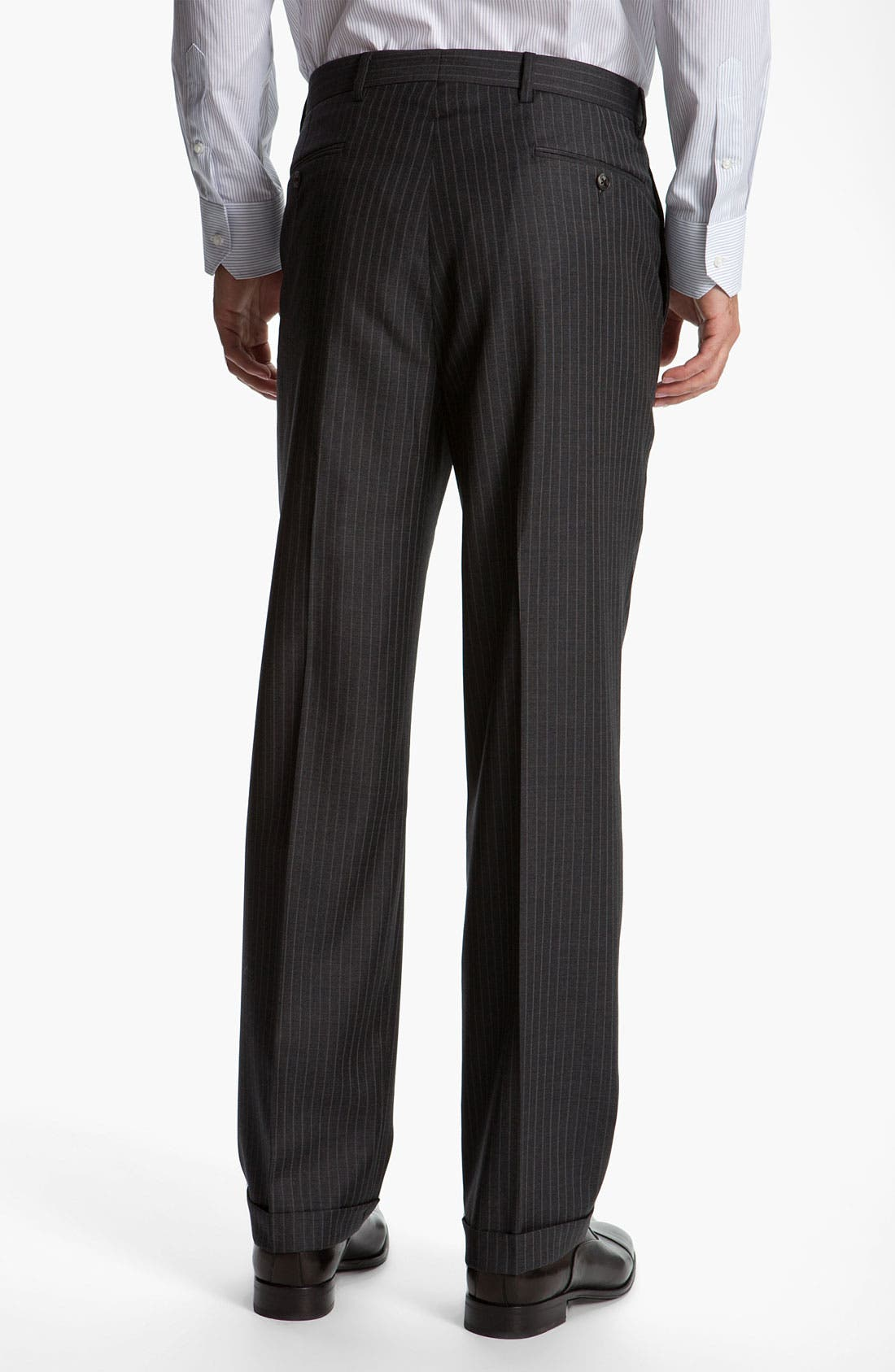 Alternate Image 5  - Joseph Abboud 'Signature Silver' Stripe Suit