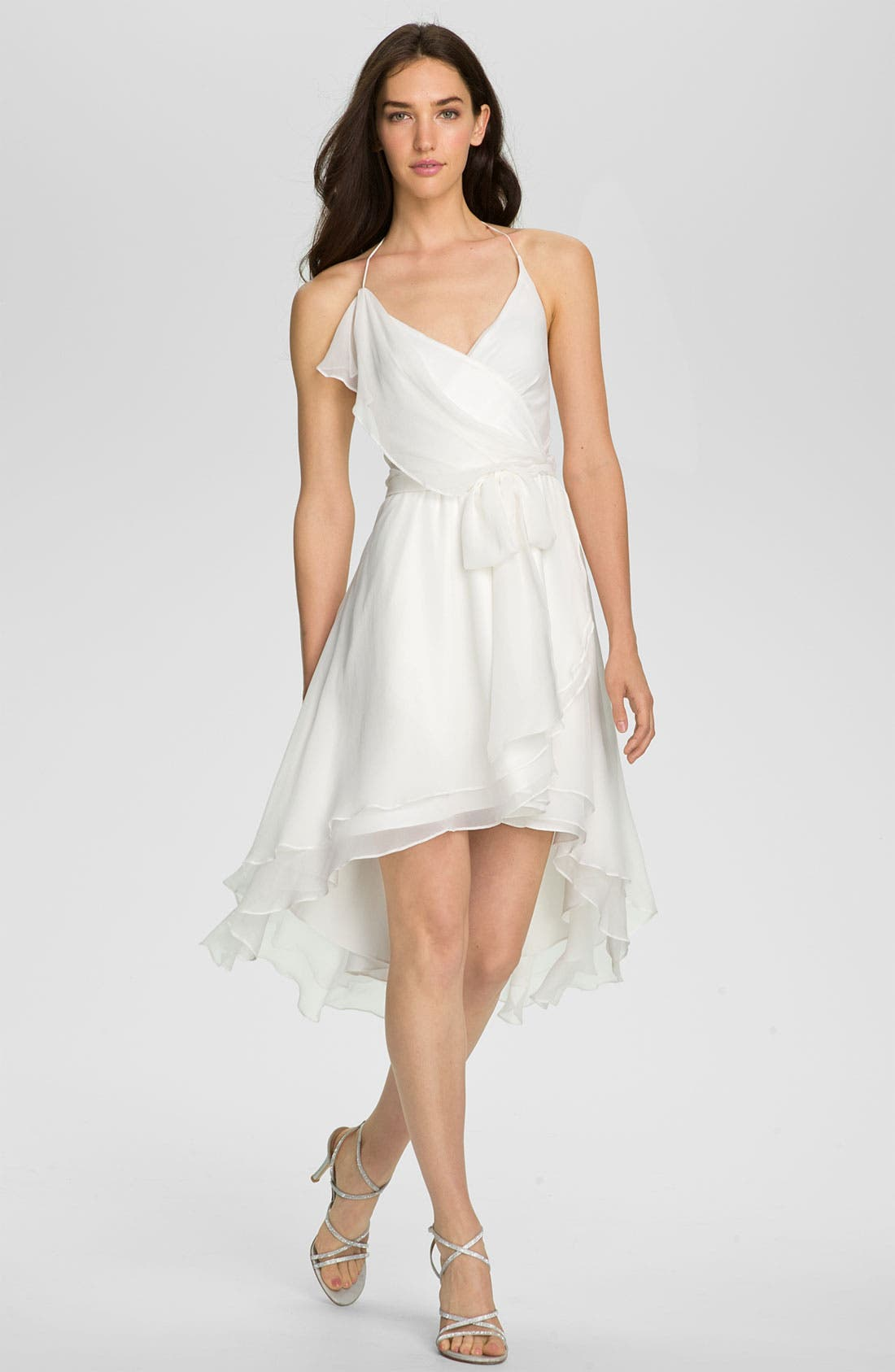 Main Image - Alexia Admor Draped Chiffon Halter Dress