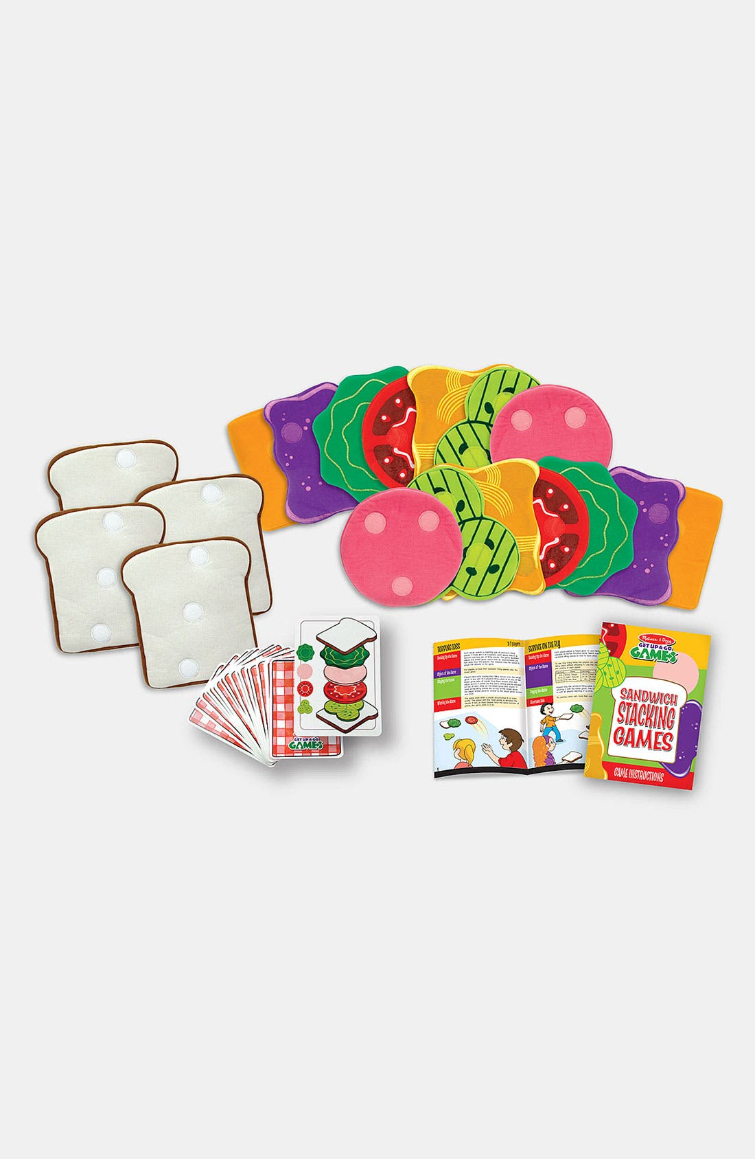 Alternate Image 2  - Melissa & Doug Sandwich Stacking Games