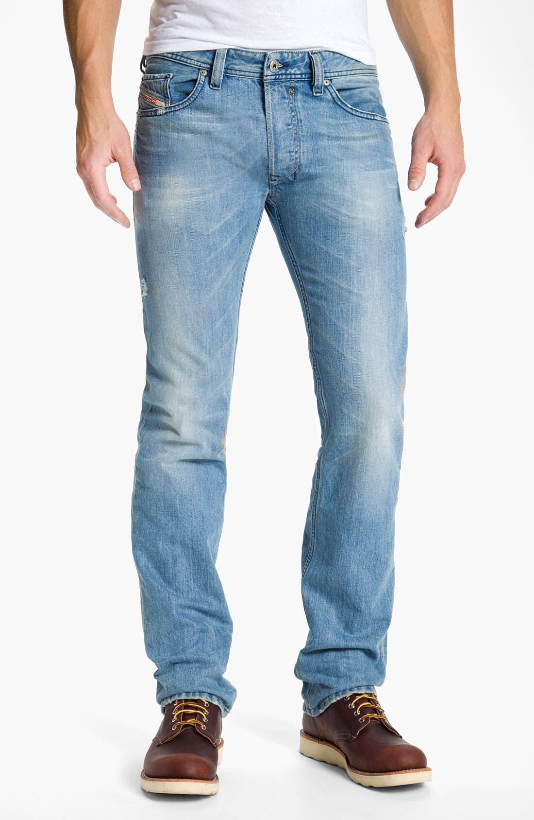 Alternate Image 2  - DIESEL® 'Safado' Straight Leg Jeans (0802I)