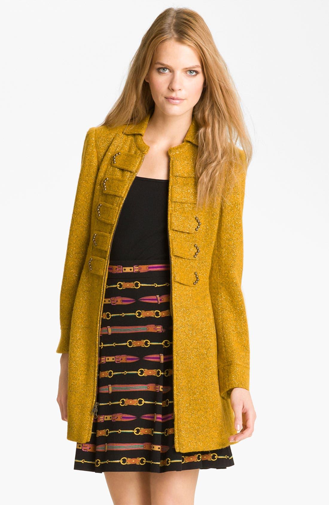 Main Image - Nanette Lepore 'Lord & Lady' A-Line Coat