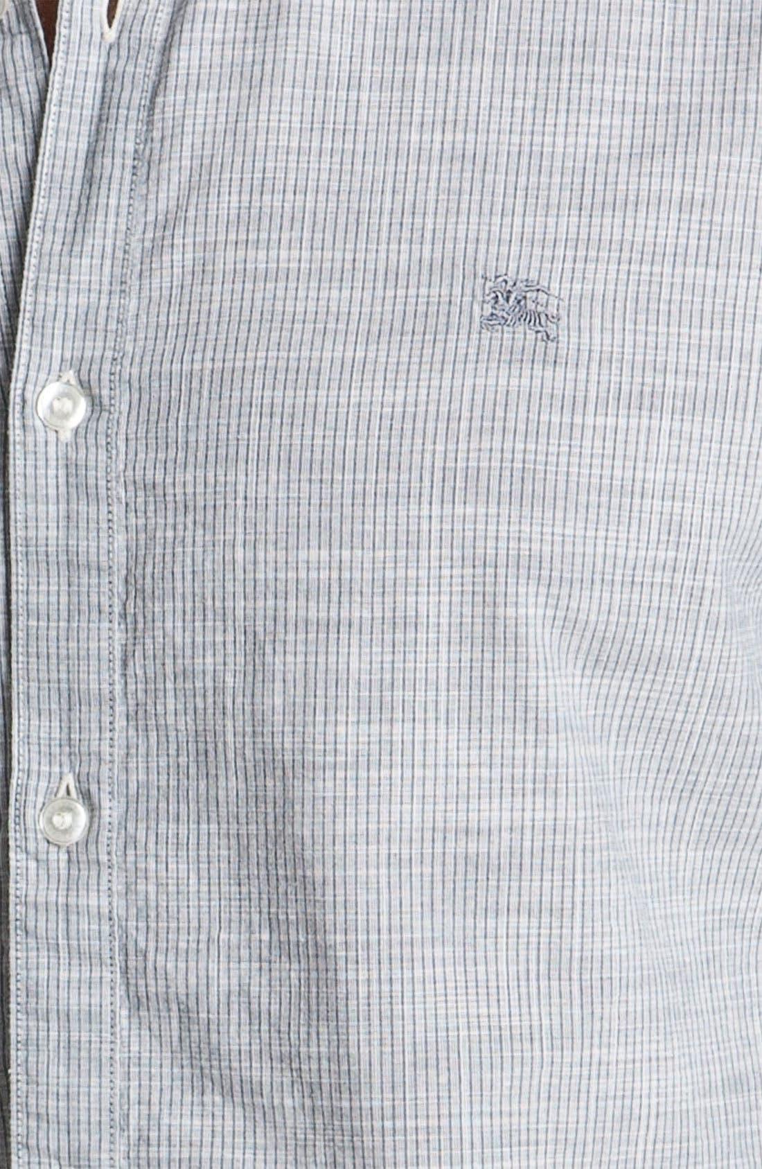 Alternate Image 3  - Burberry Brit Trim Fit Sport Shirt