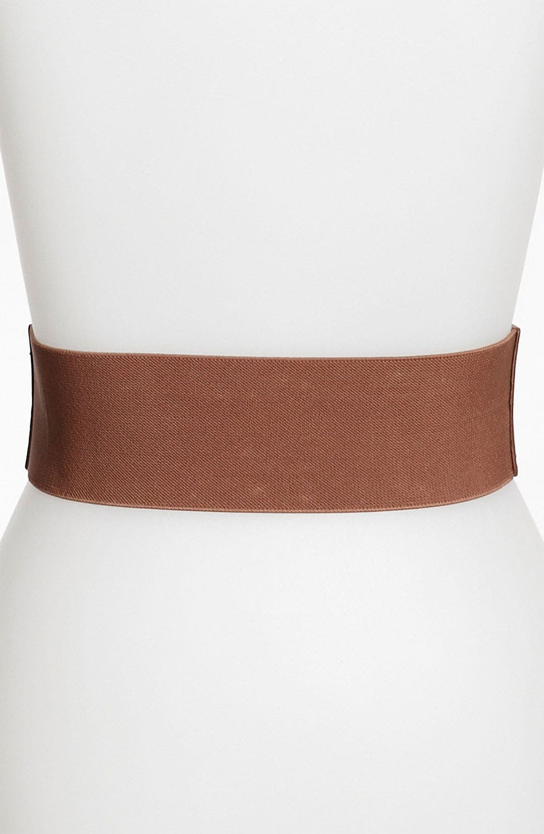 Alternate Image 2  - Steven by Steve Madden Studded Stretch Belt