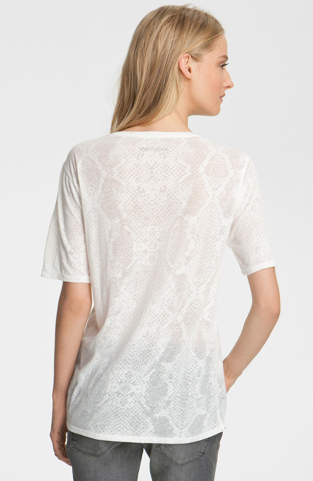Alternate Image 2  - Zadig & Voltaire 'Anyta' Burnout Tee