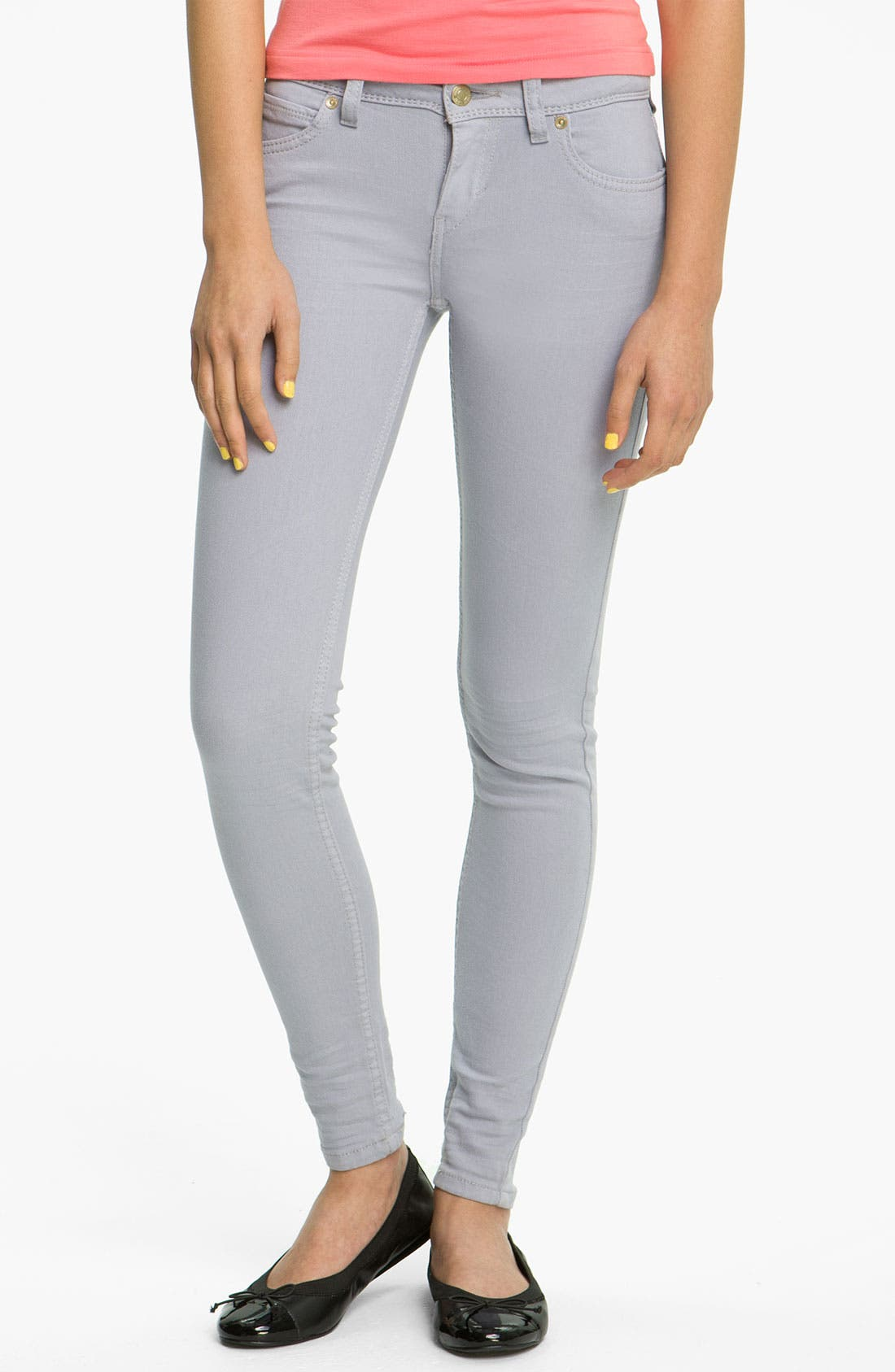 Alternate Image 2  - Levi's® Overdyed Denim Leggings (Purple Sage)