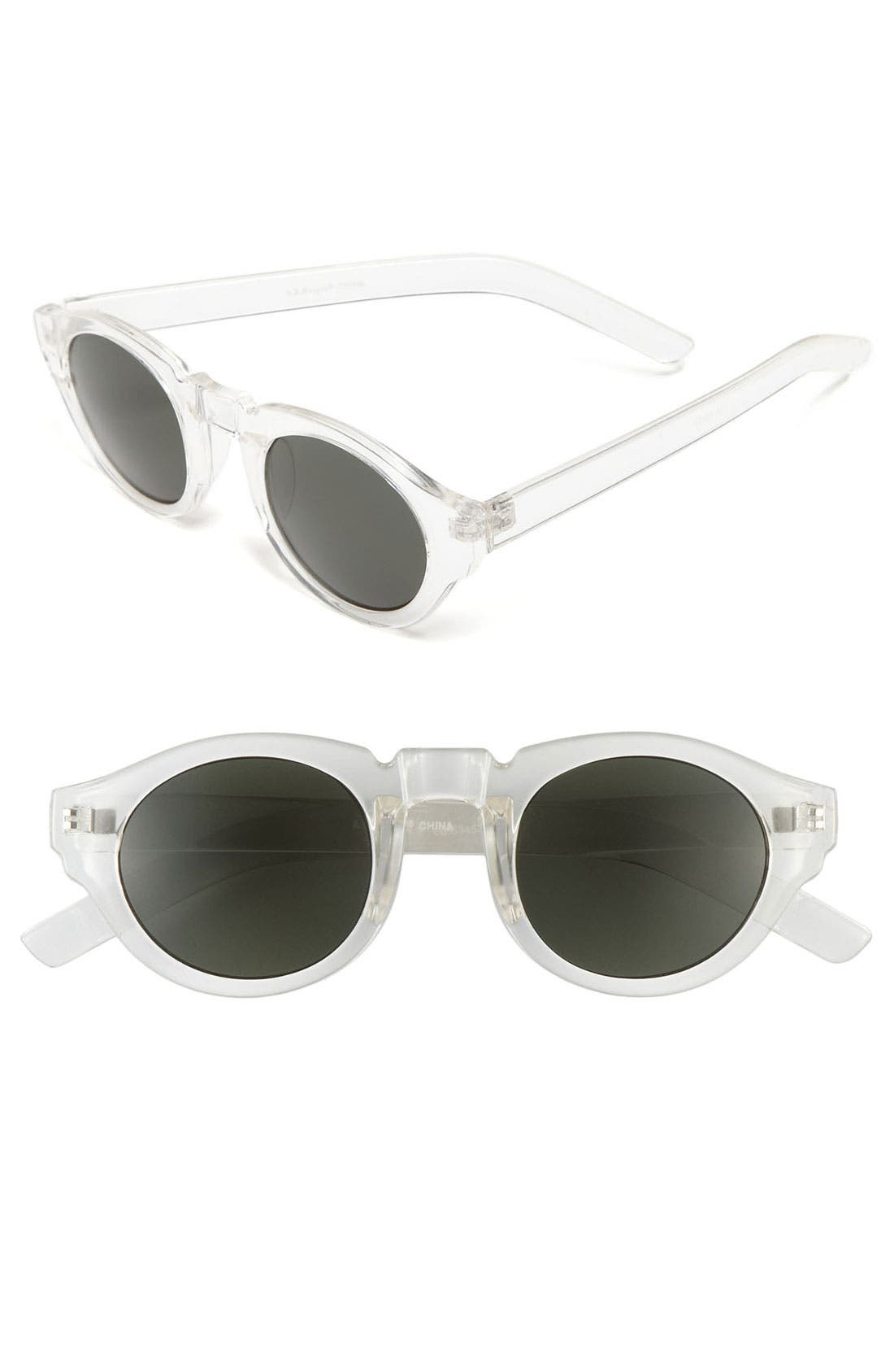 Alternate Image 1 Selected - A.J. Morgan 'Astro' Retro Sunglasses