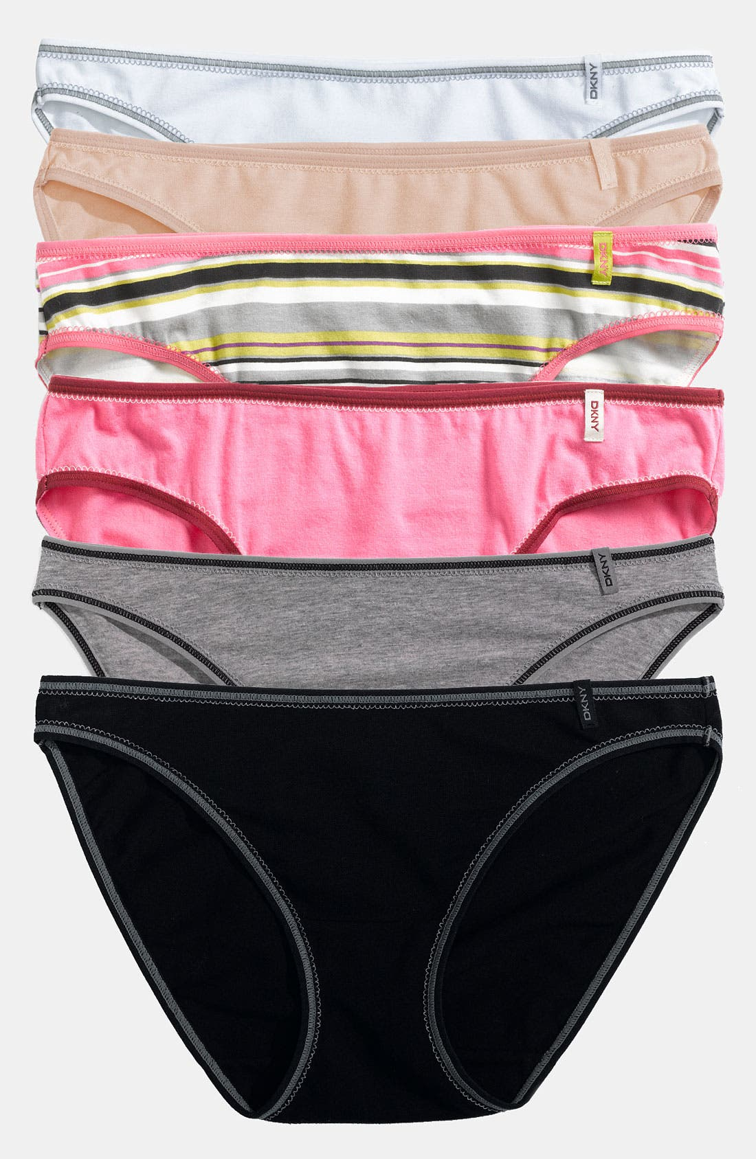 Alternate Image 1 Selected - DKNY 'Comfort Classic' Bikini (3 for $27)