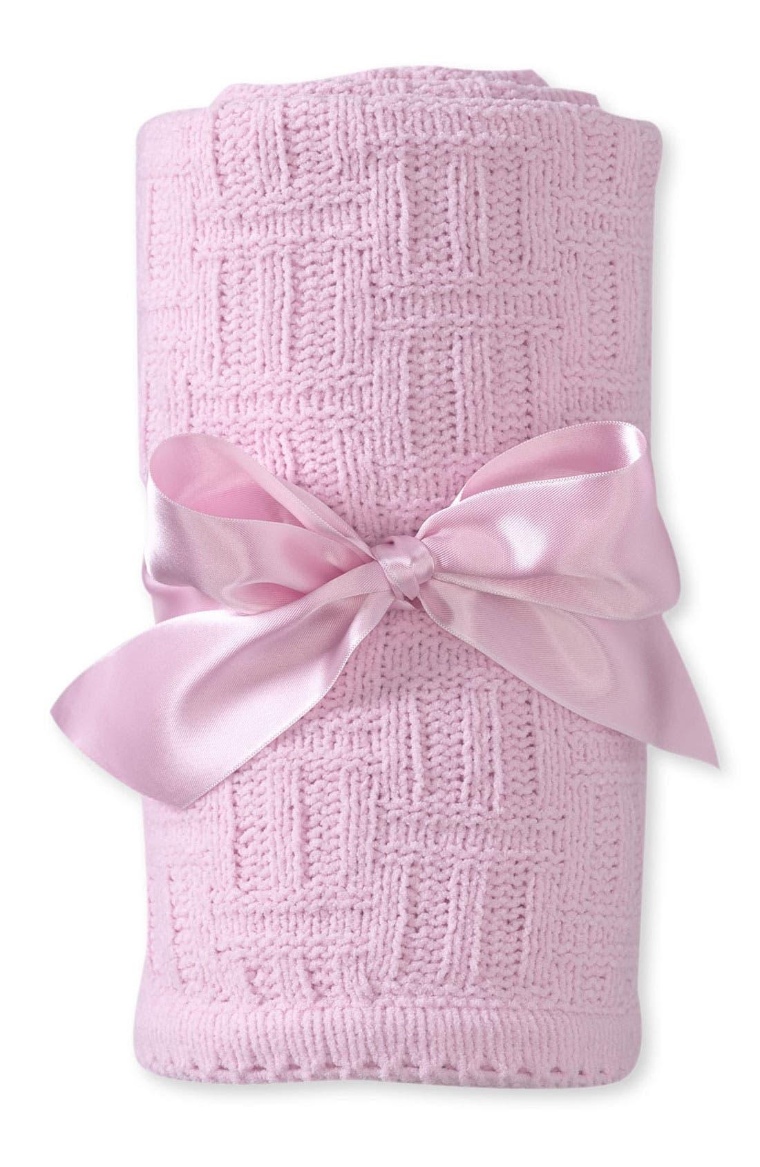 Main Image - Nordstrom Basket Weave Blanket