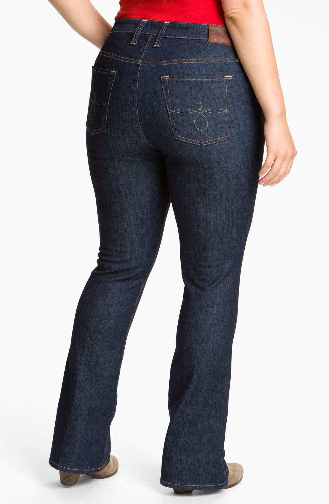 Alternate Image 2  - Lucky Brand 'Ginger' Bootcut Jeans (Plus Size)