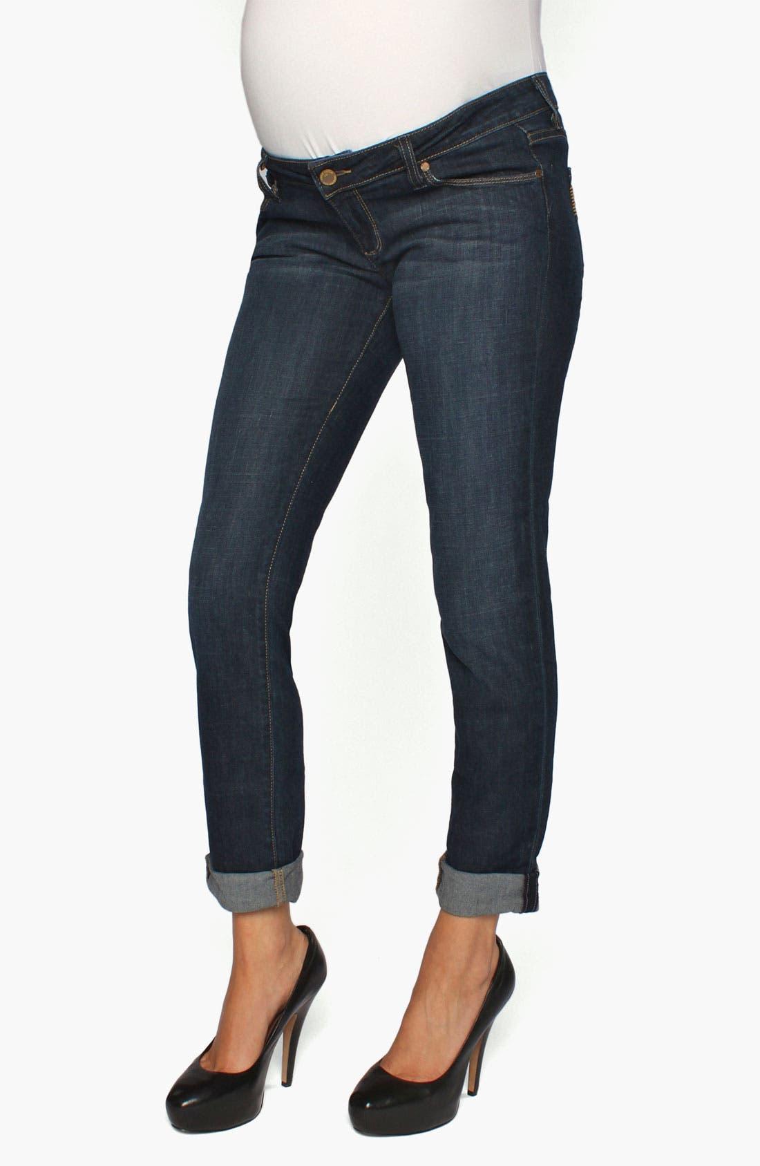 Alternate Image 2  - Paige Denim 'Jimmy Jimmy Westbourne' Maternity Skinny Jeans (Gavin)