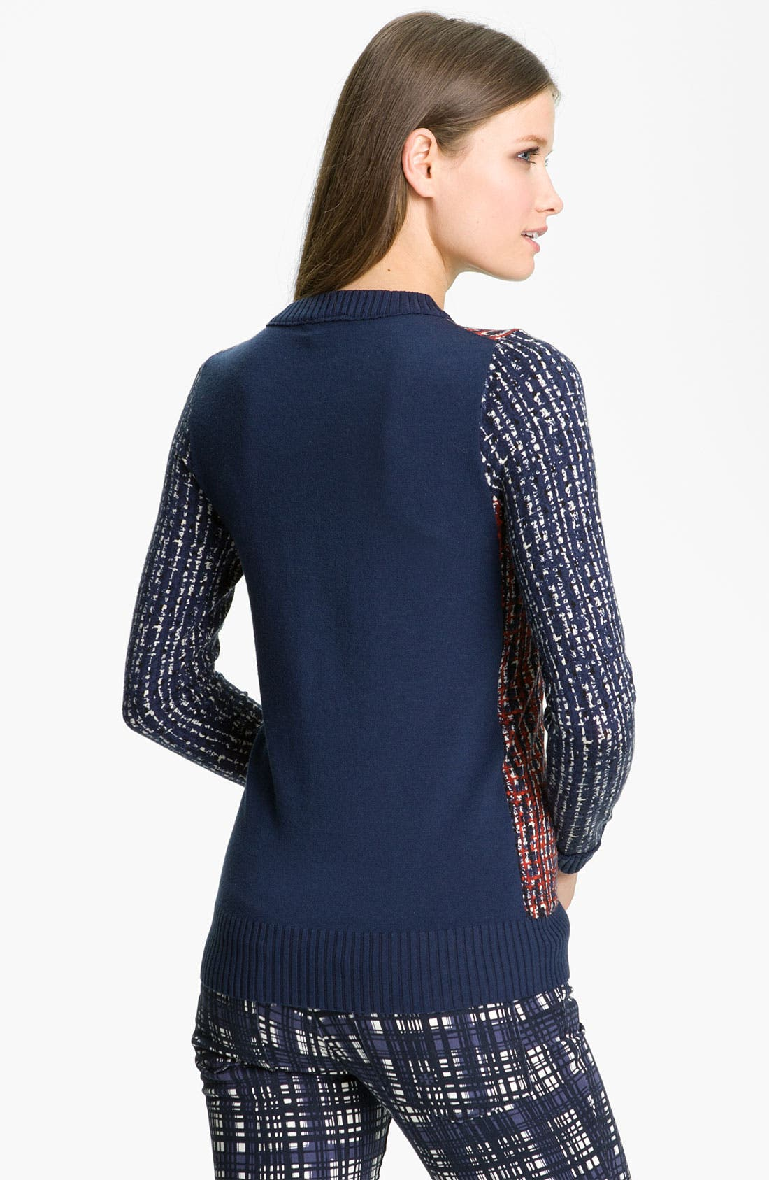 Alternate Image 2  - Tory Burch 'Hutton' Crewneck Sweater
