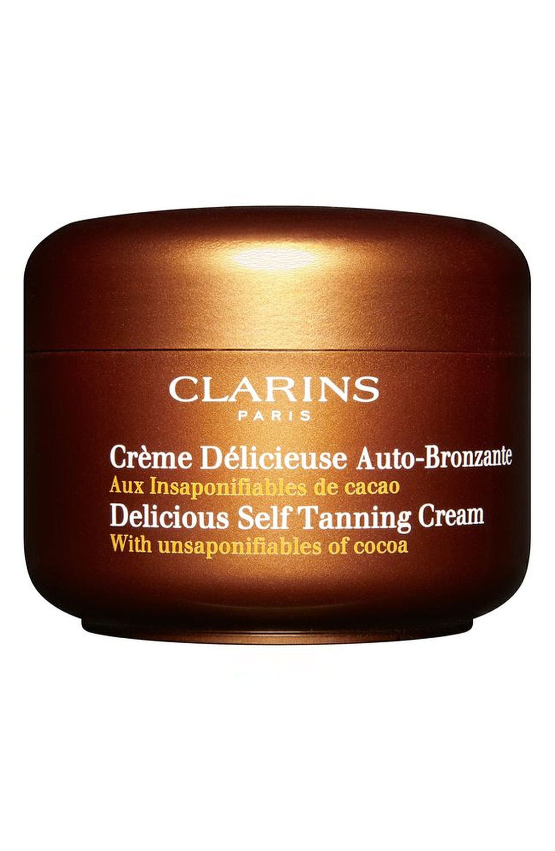 Clarins 'Delicious' Self-Tanning Cream