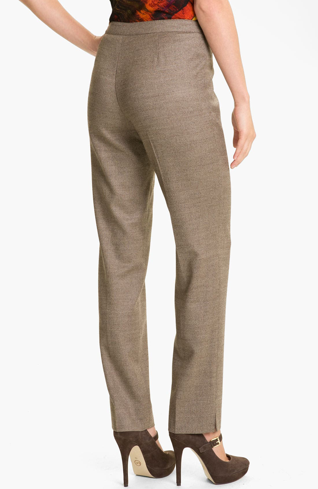 Alternate Image 2  - Lafayette 148 New York 'Bleecker - Poised' Suiting Pants