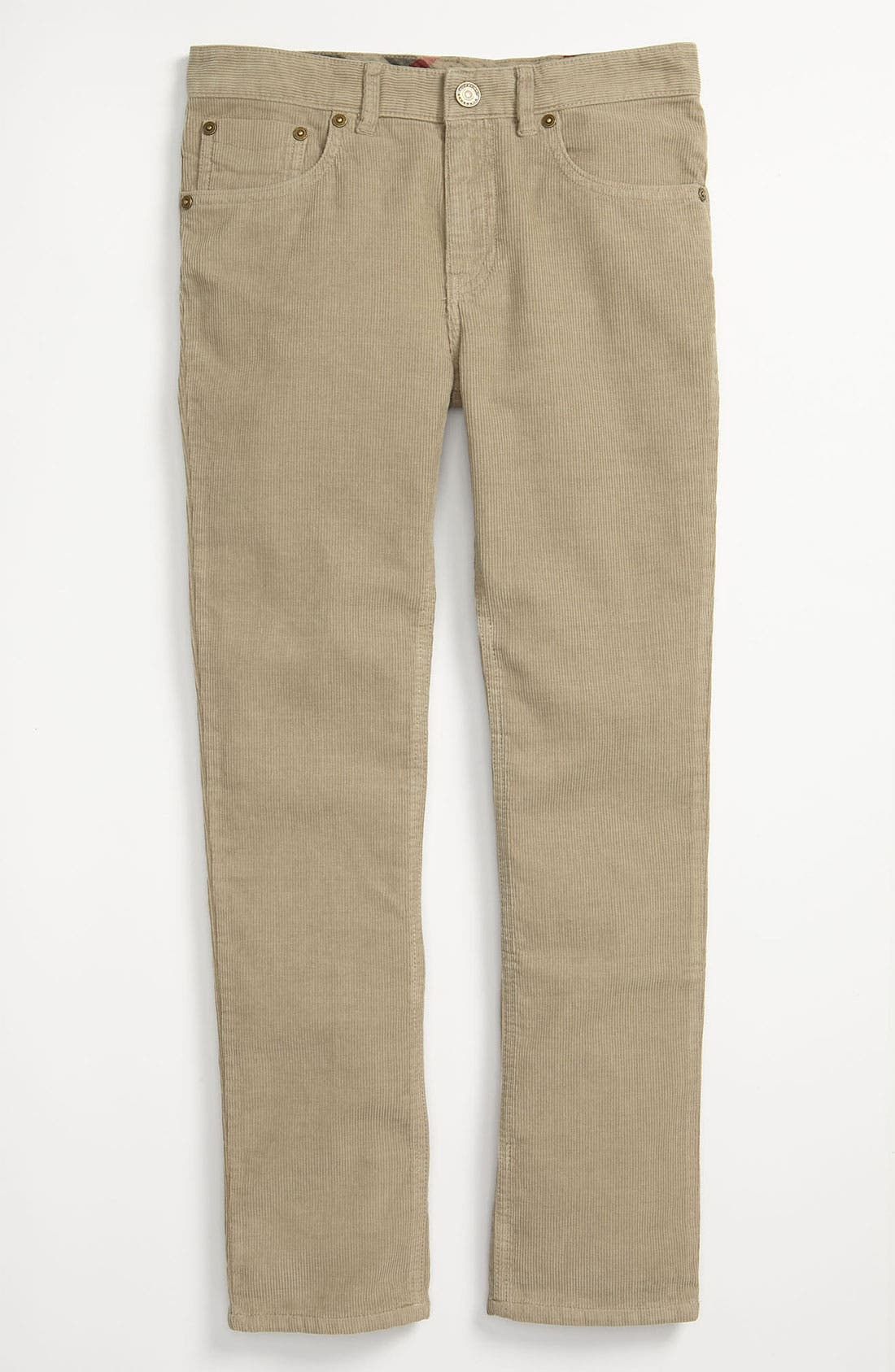 Alternate Image 2  - Burberry Corduroy Pants (Big Boys)