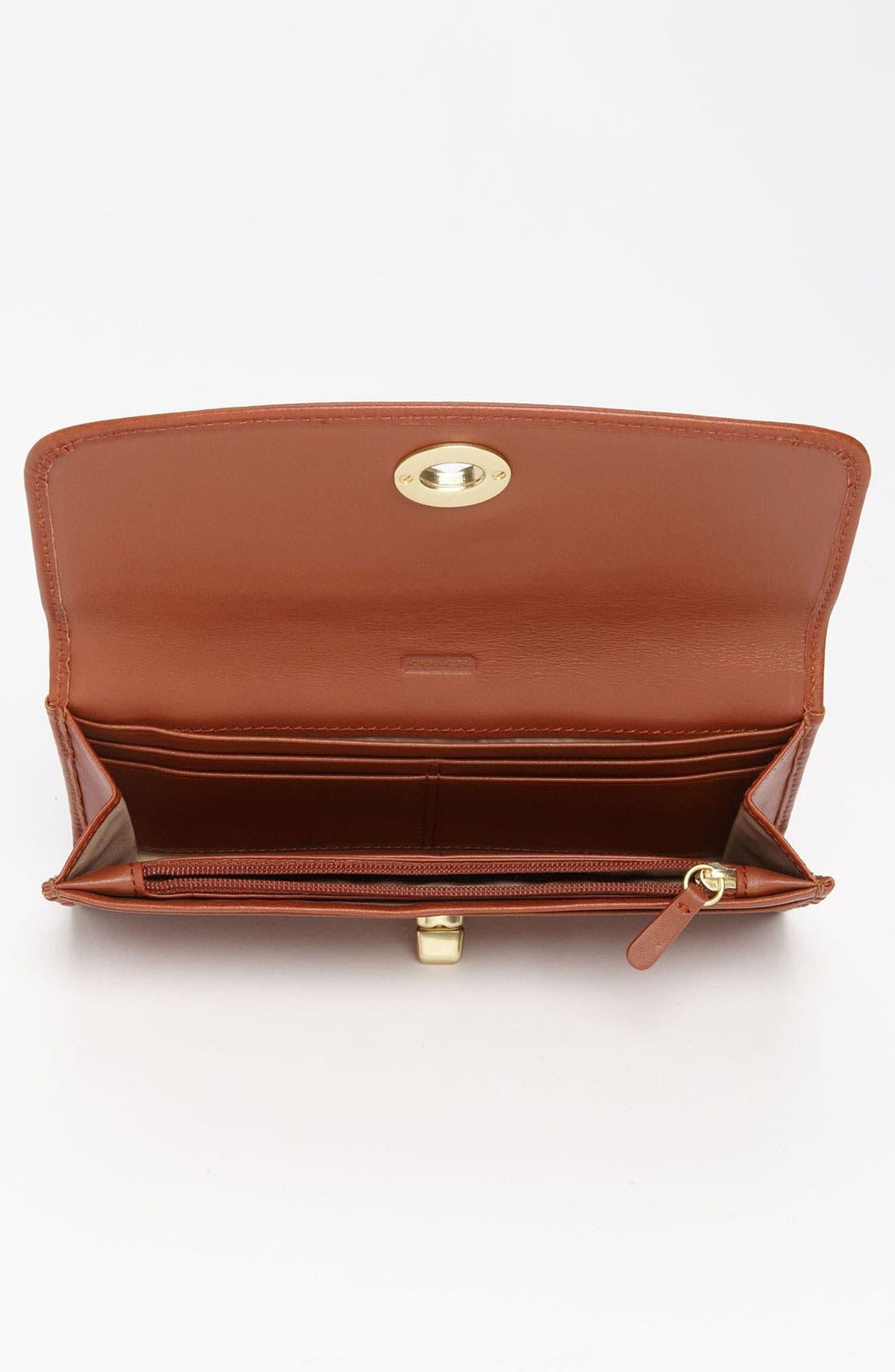 Alternate Image 3  - COACH 'Legacy - Slim' Leather Envelope Wallet
