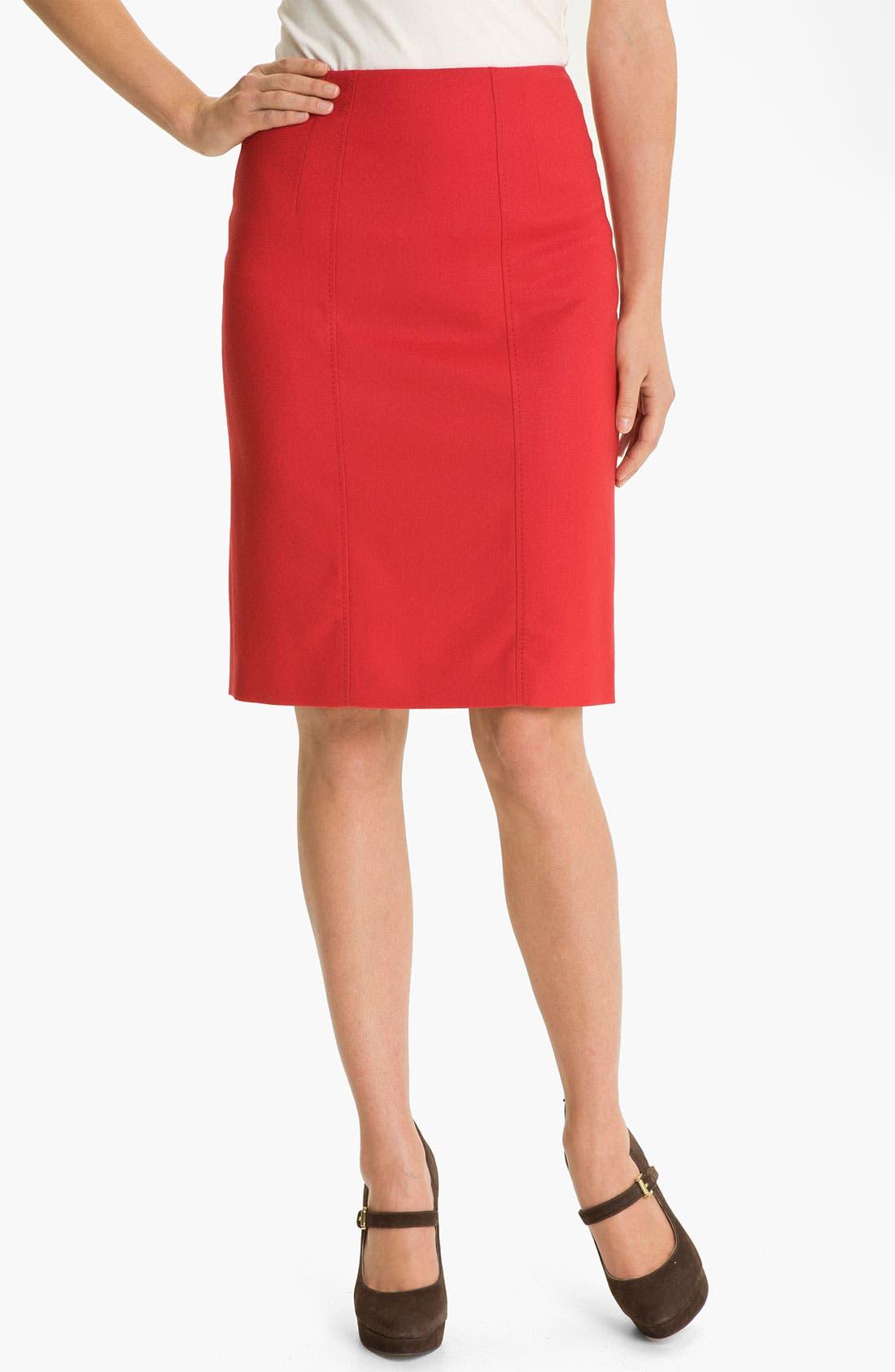 Main Image - BOSS Black 'Vilisa' Skirt