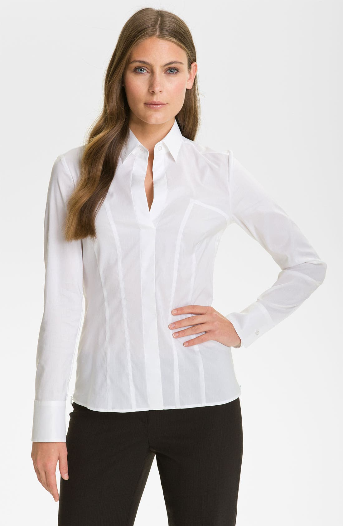 Alternate Image 1 Selected - BOSS Black 'Bashine' Blouse