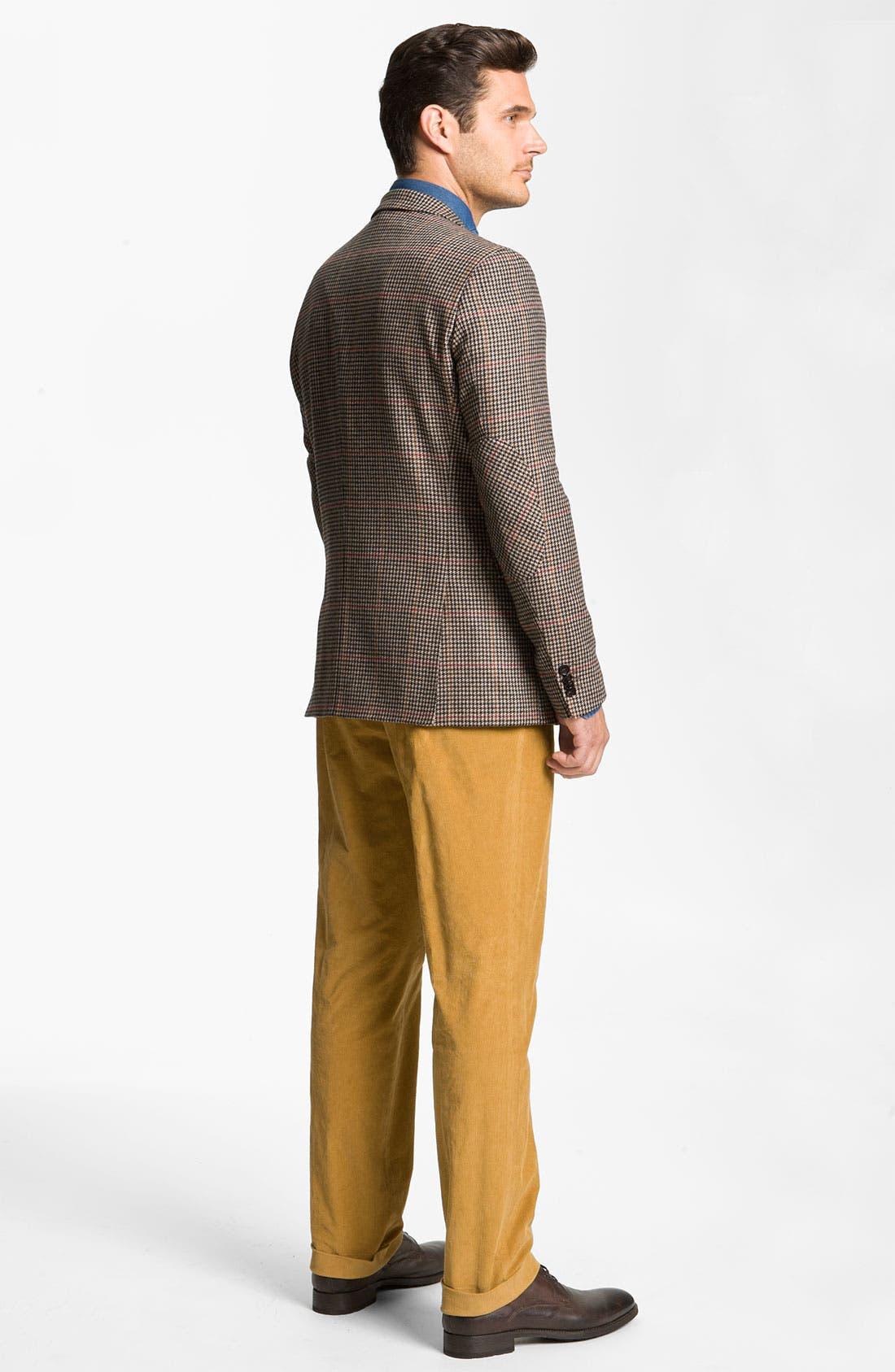 Alternate Image 5  - BOSS Black 'Shap' Corduroy Trousers
