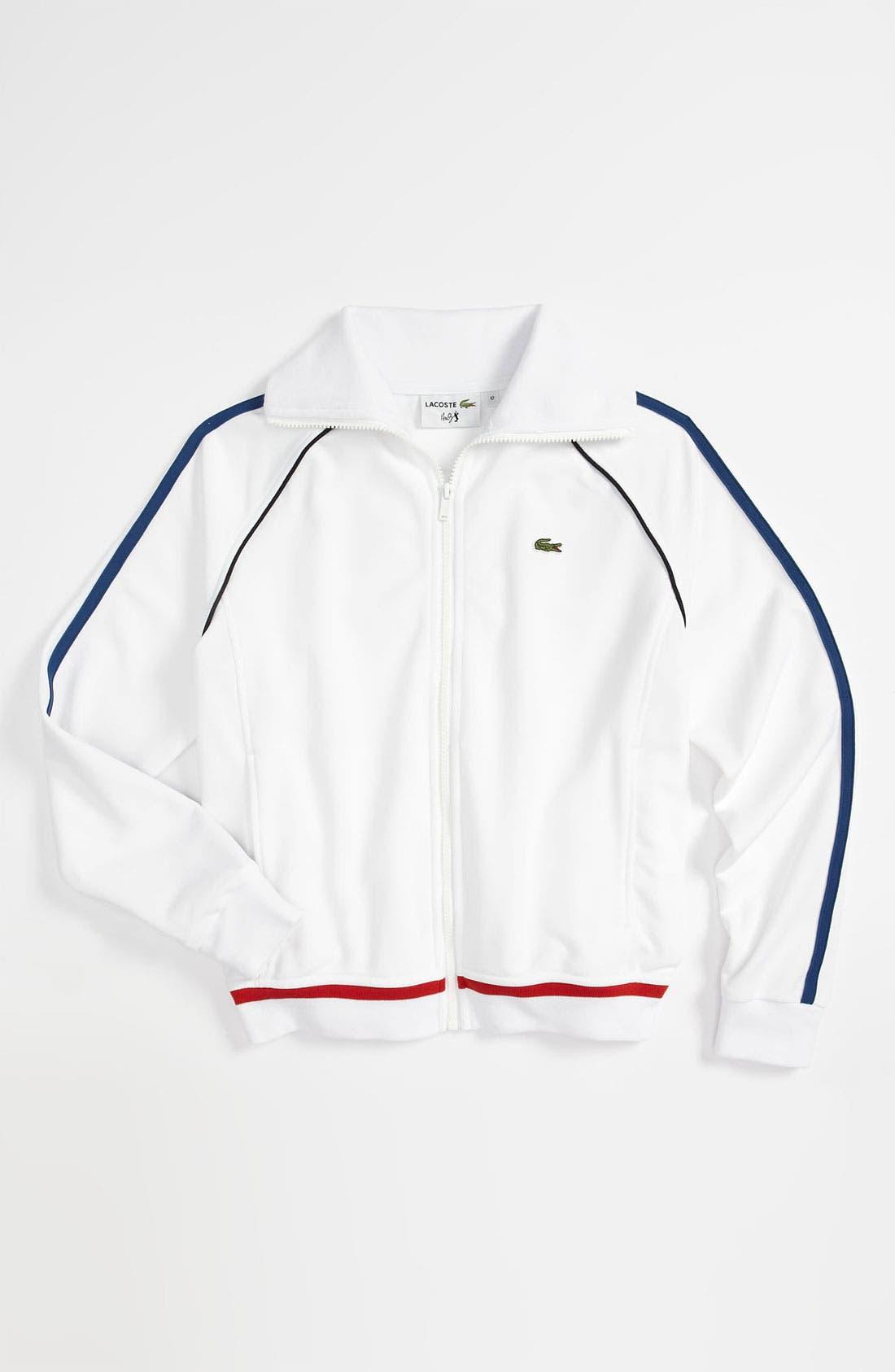 Main Image - Lacoste Track Jacket  (Big Boys)