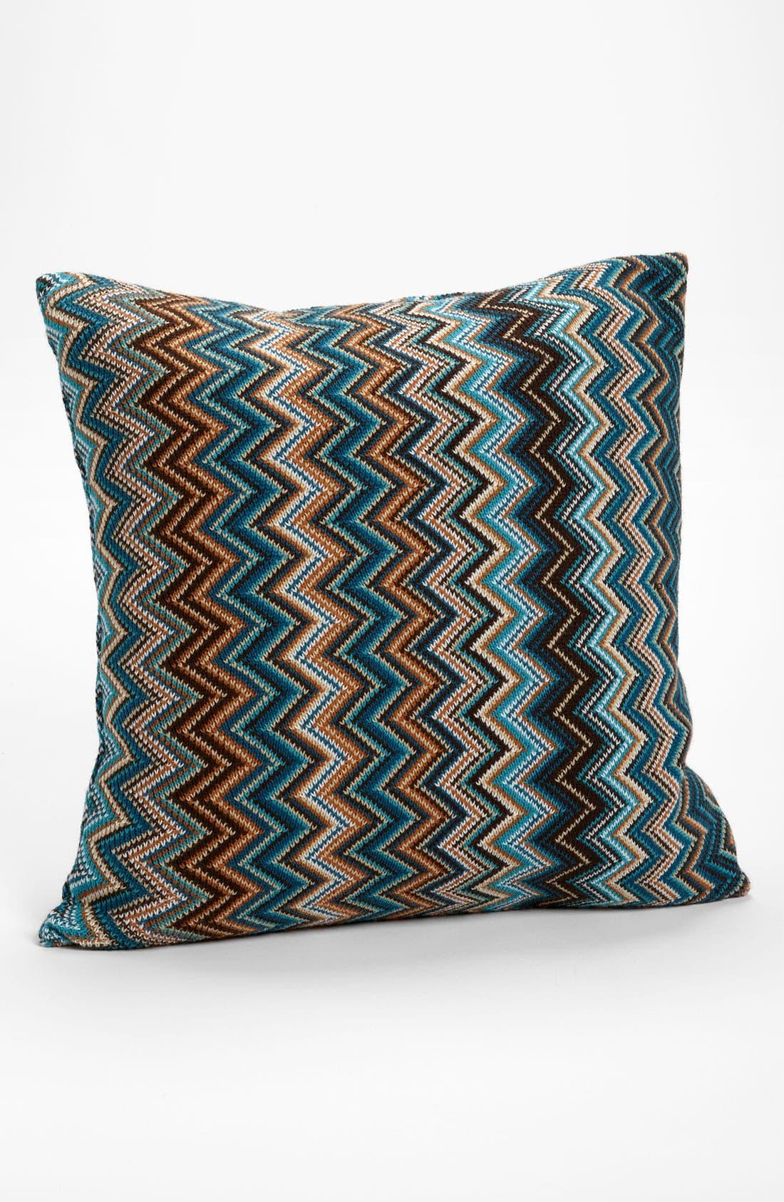Main Image - Kennebunk Home 'Caitlin' Chevron Knit Pillow