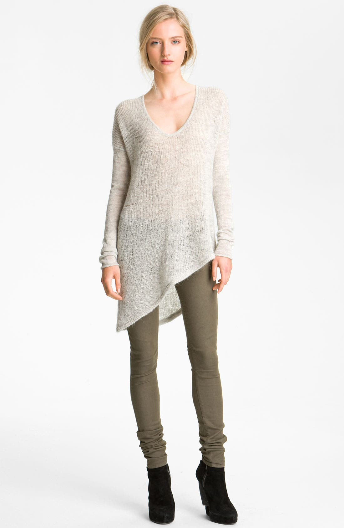 Alternate Image 1 Selected - HELMUT Helmut Lang Alpaca Sweater