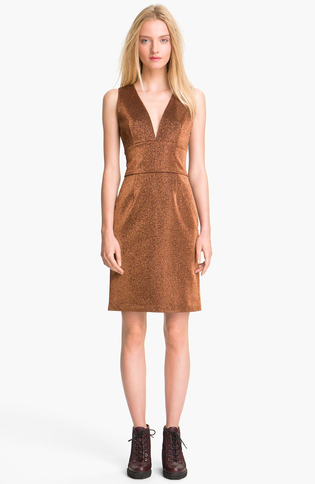 Alternate Image 1 Selected - Opening Ceremony Metallic Dress