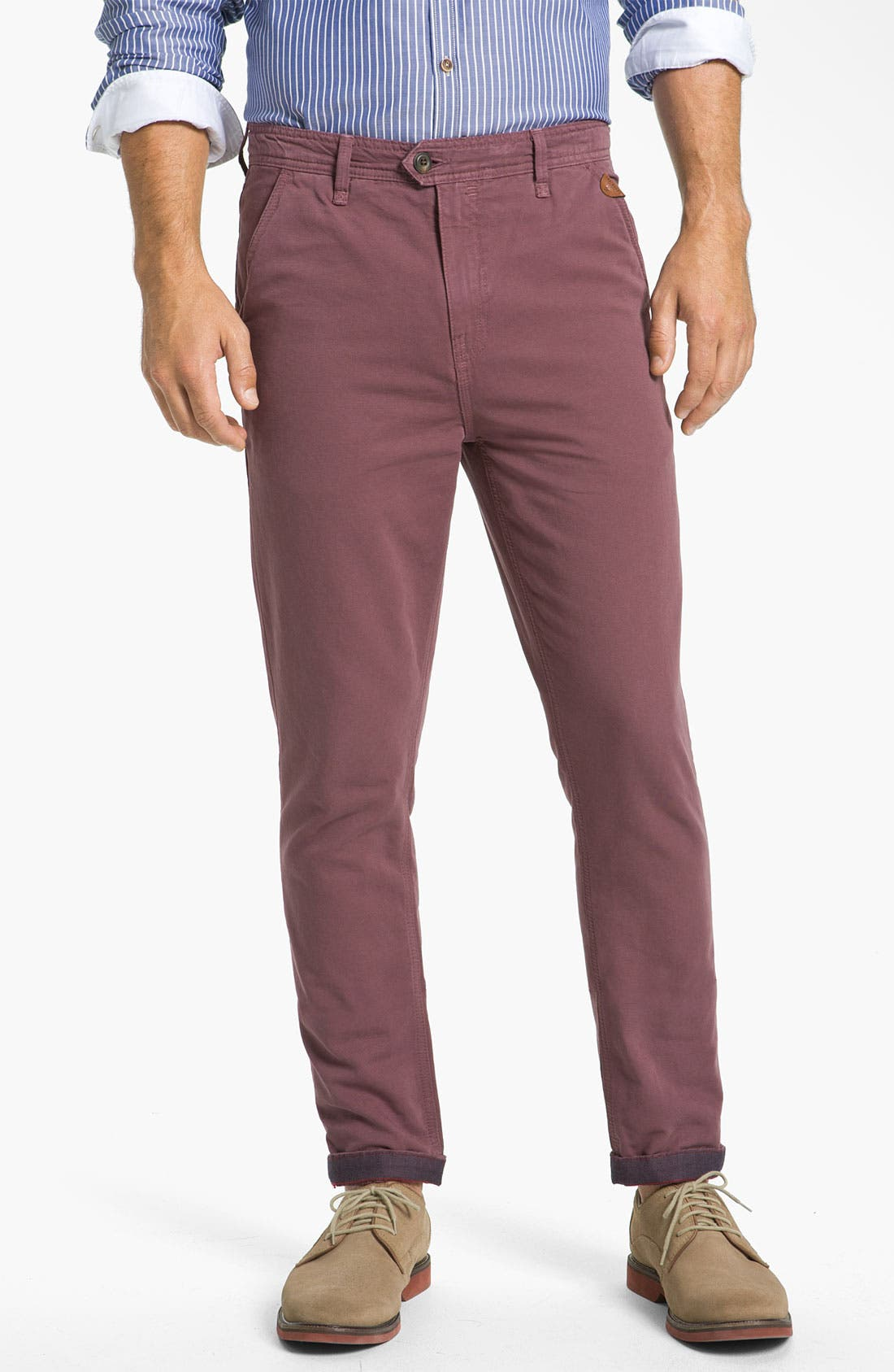 Alternate Image 1 Selected - Ted Baker London 'Soochin' Slim Fit Chinos