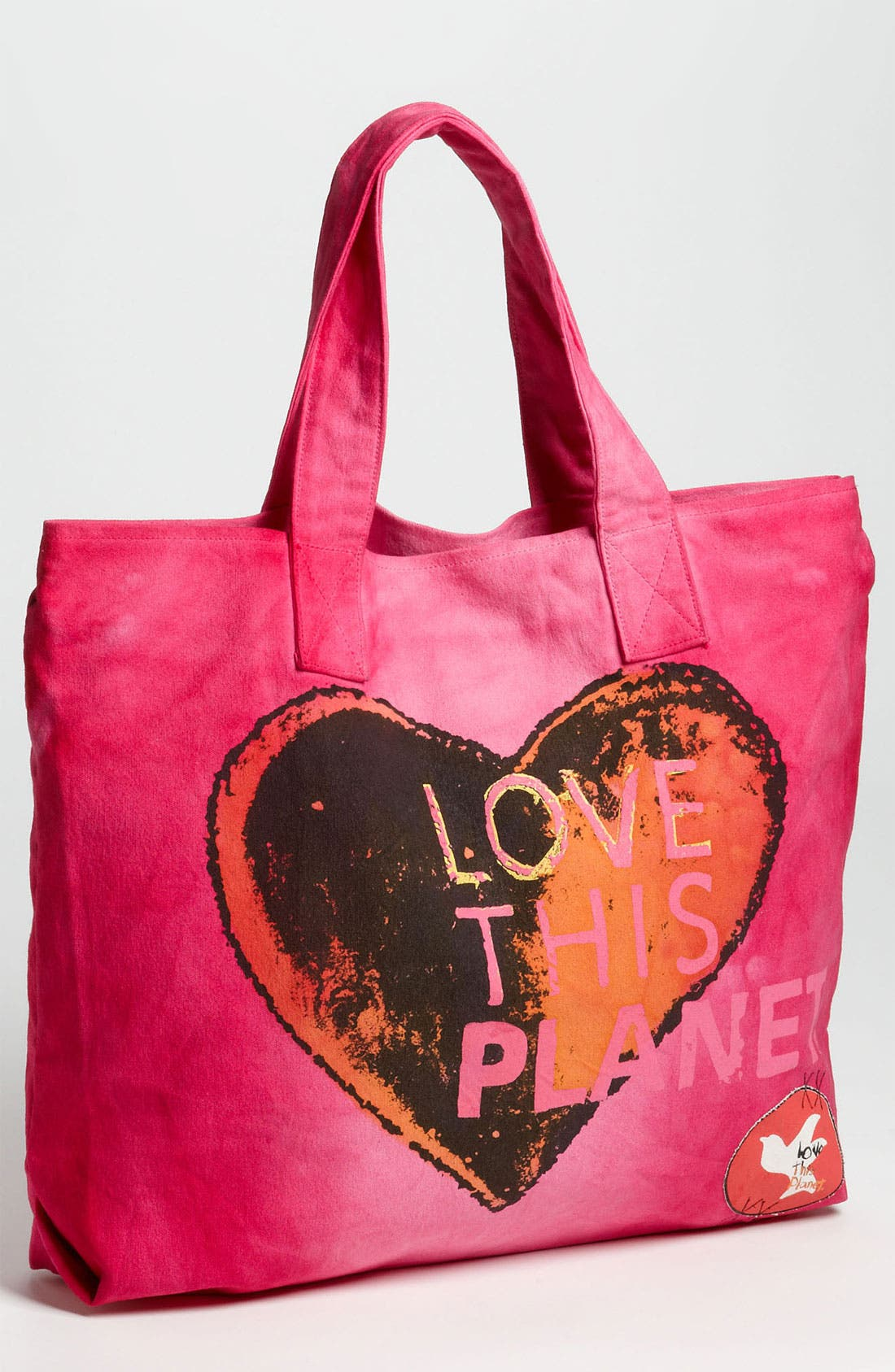 Alternate Image 1 Selected - Love This Planet 'Love This Planet' Canvas Tote
