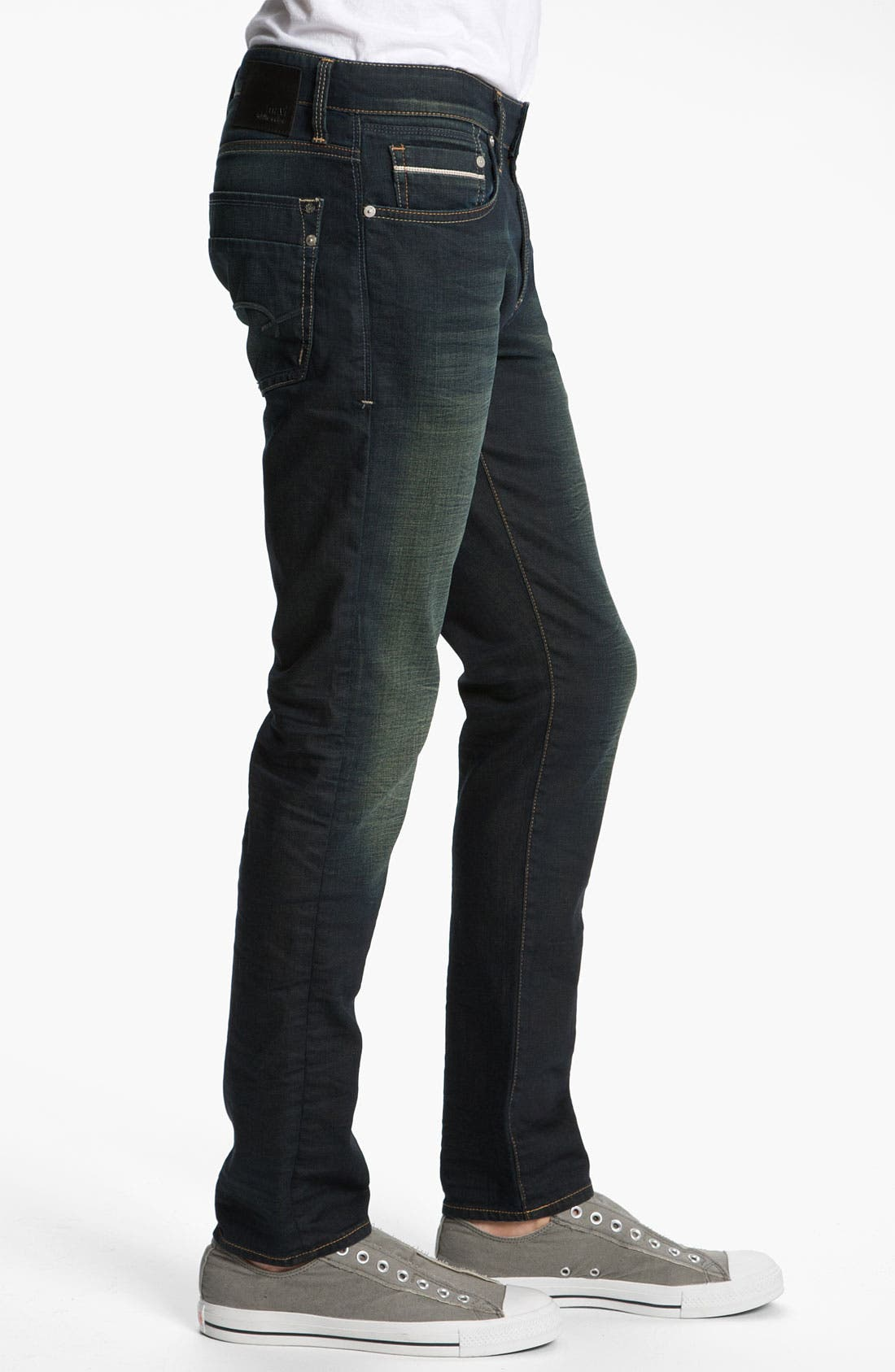 Alternate Image 3  - Mavi Jeans 'Jake' Slim Fit Jeans (Smoke White Edge)