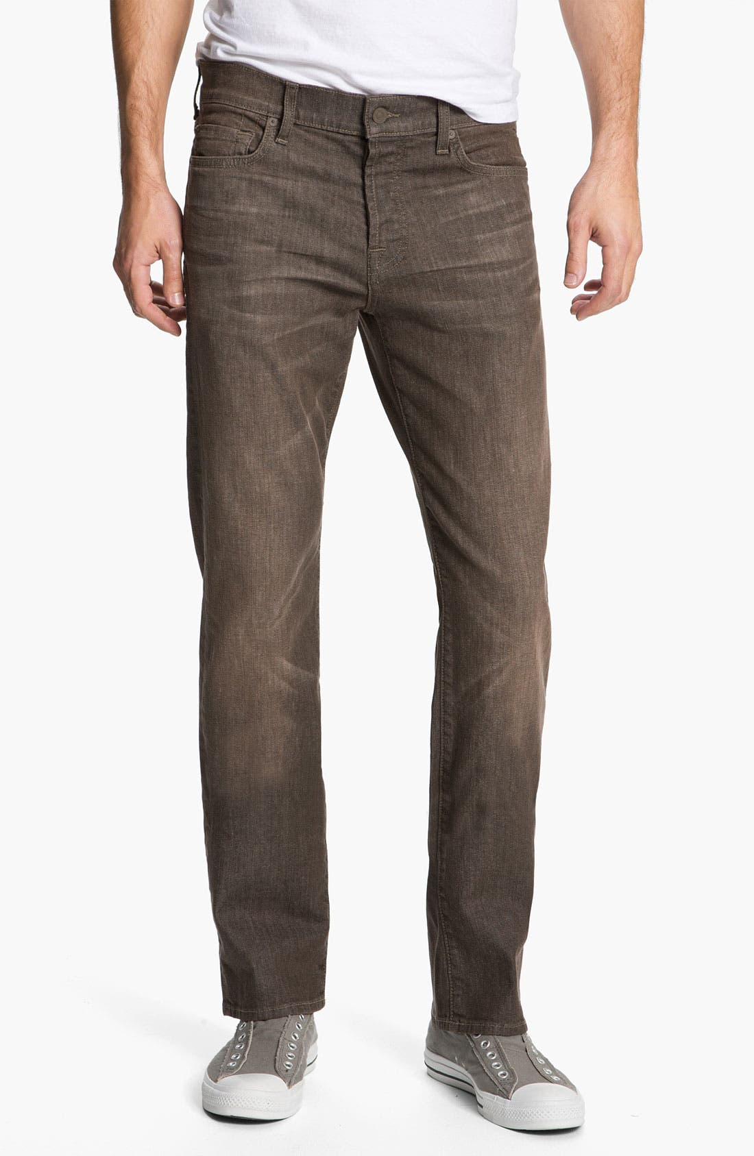Alternate Image 2  - 7 For All Mankind® Standard Straight Leg Jeans (Kings Canyon)