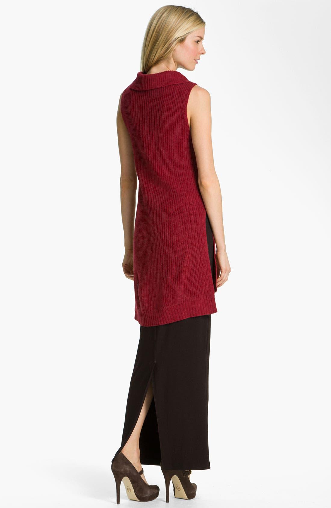 Alternate Image 5  - Eileen Fisher Supersoft Yak Wool Blend Tunic Dress