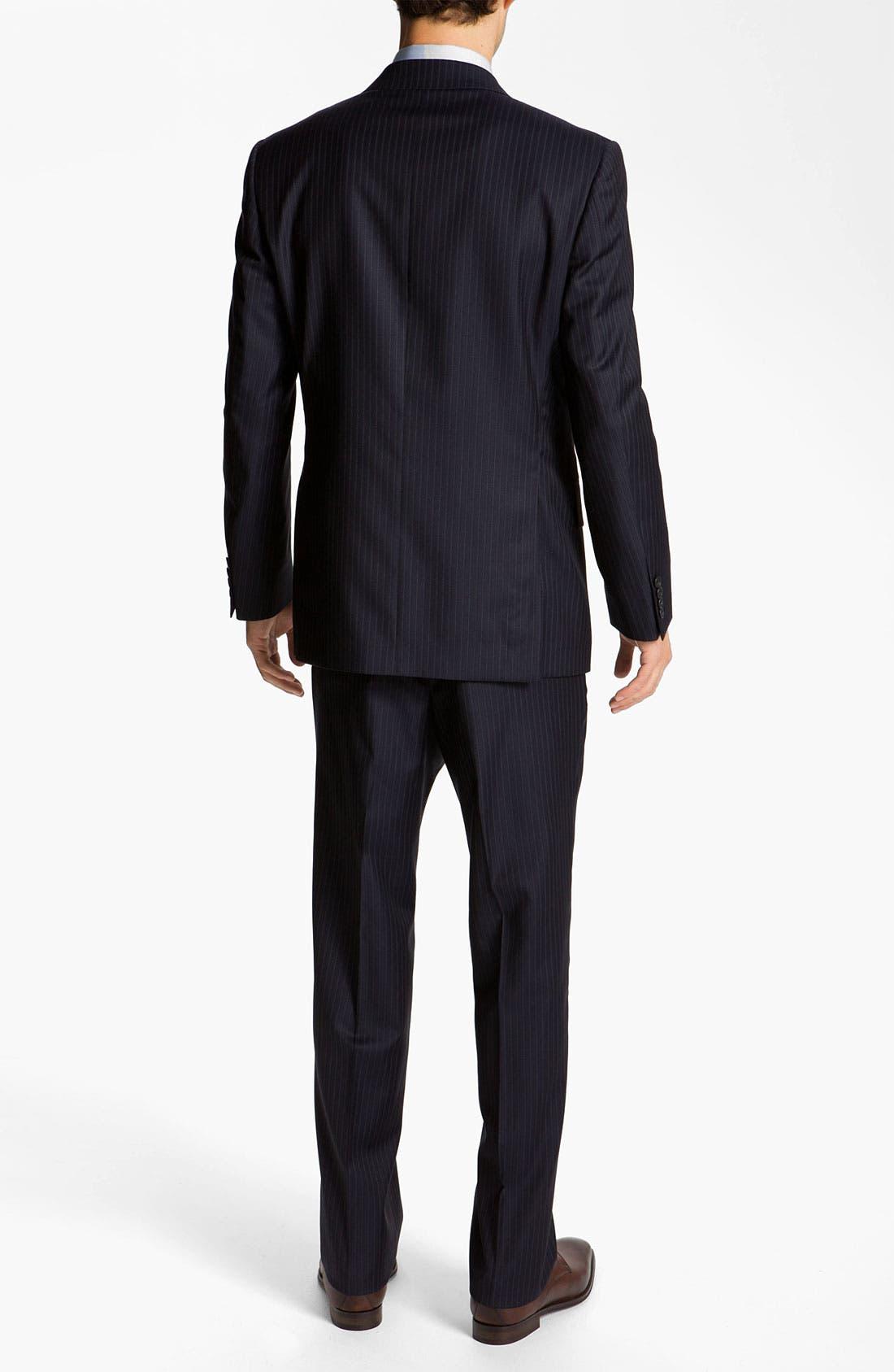 Alternate Image 3  - Joseph Abboud 'Profile' Pinstripe Wool Suit
