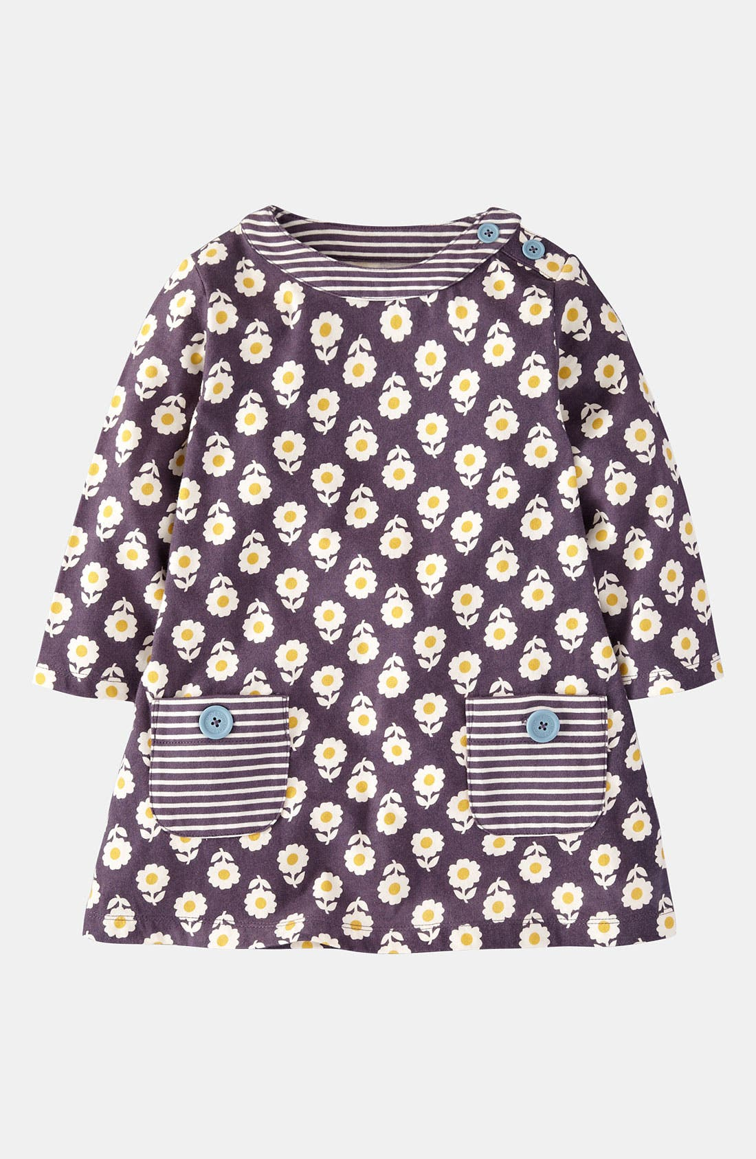 Alternate Image 1 Selected - Mini Boden Print Tunic (Toddler)
