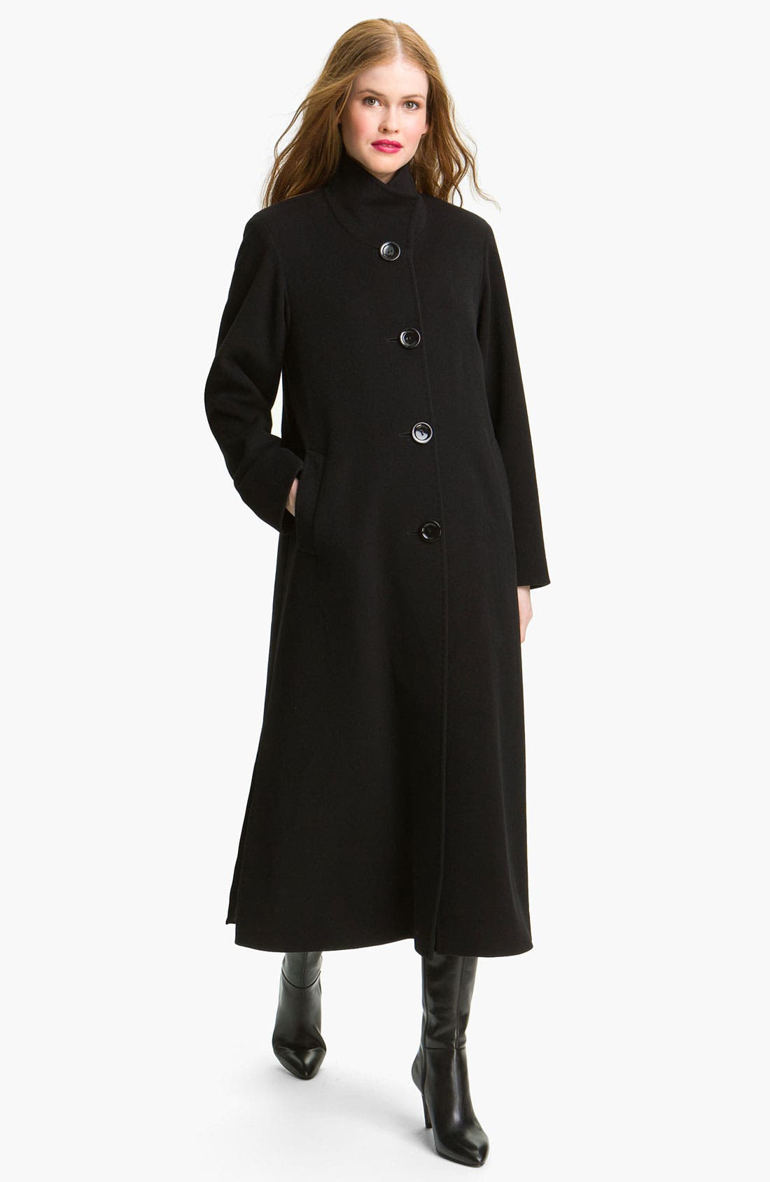 Alternate Image 1 Selected - Cinzia Rocca Four Button Long Coat