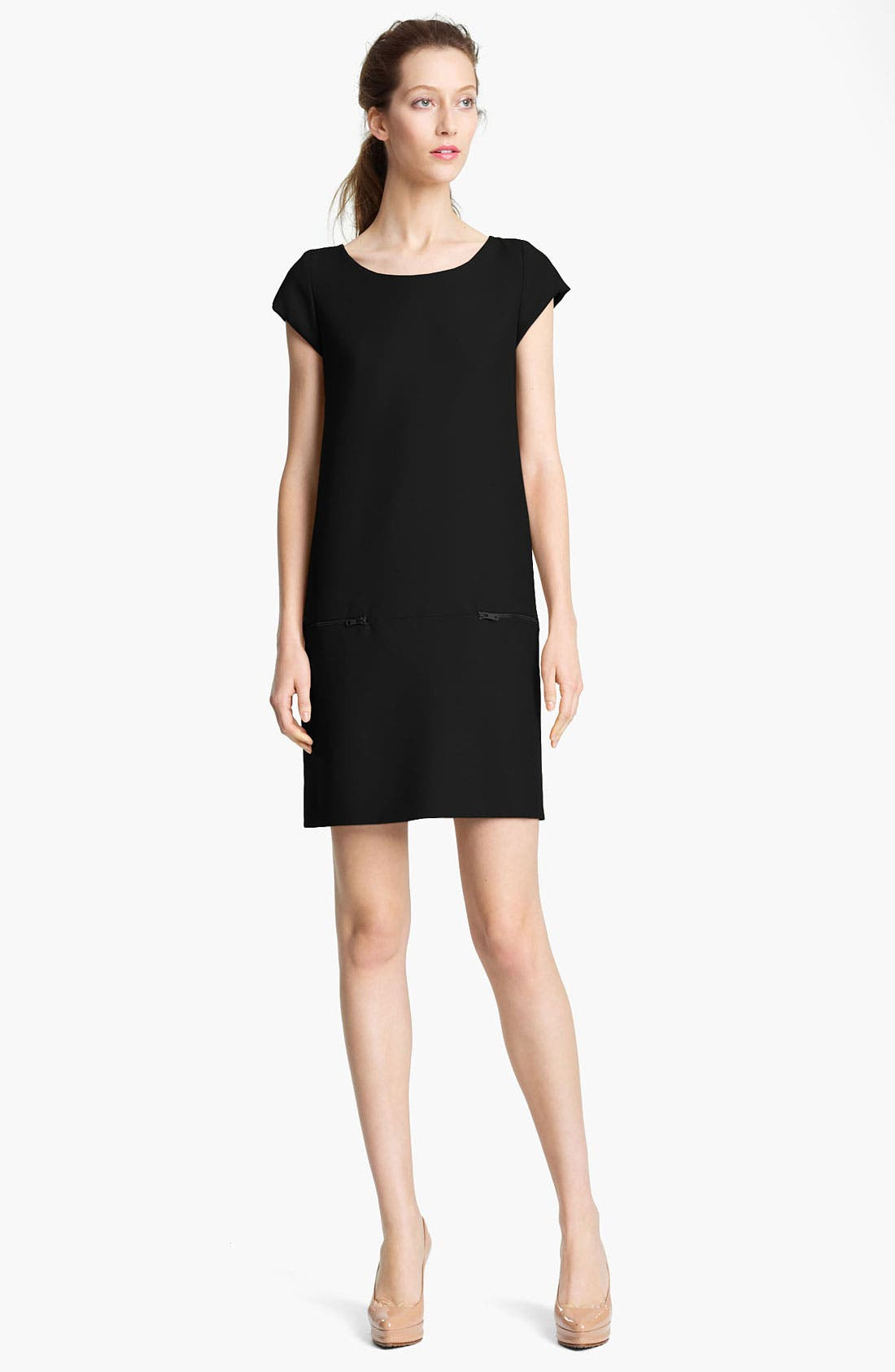 Alternate Image 1 Selected - Moschino Cheap & Chic Cap Sleeve Dress