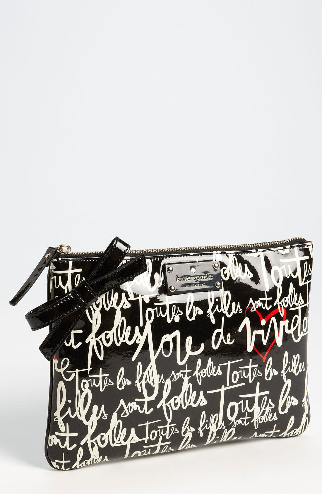 Main Image - kate spade new york 'garance doré - georgie' zip pouch