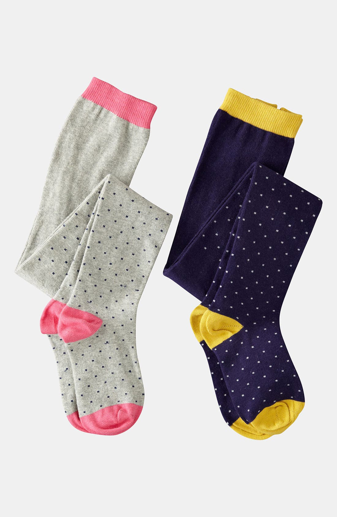 Alternate Image 1 Selected - Mini Boden 'Ditzy' Pattern Tights (Little Girls & Big Girls)