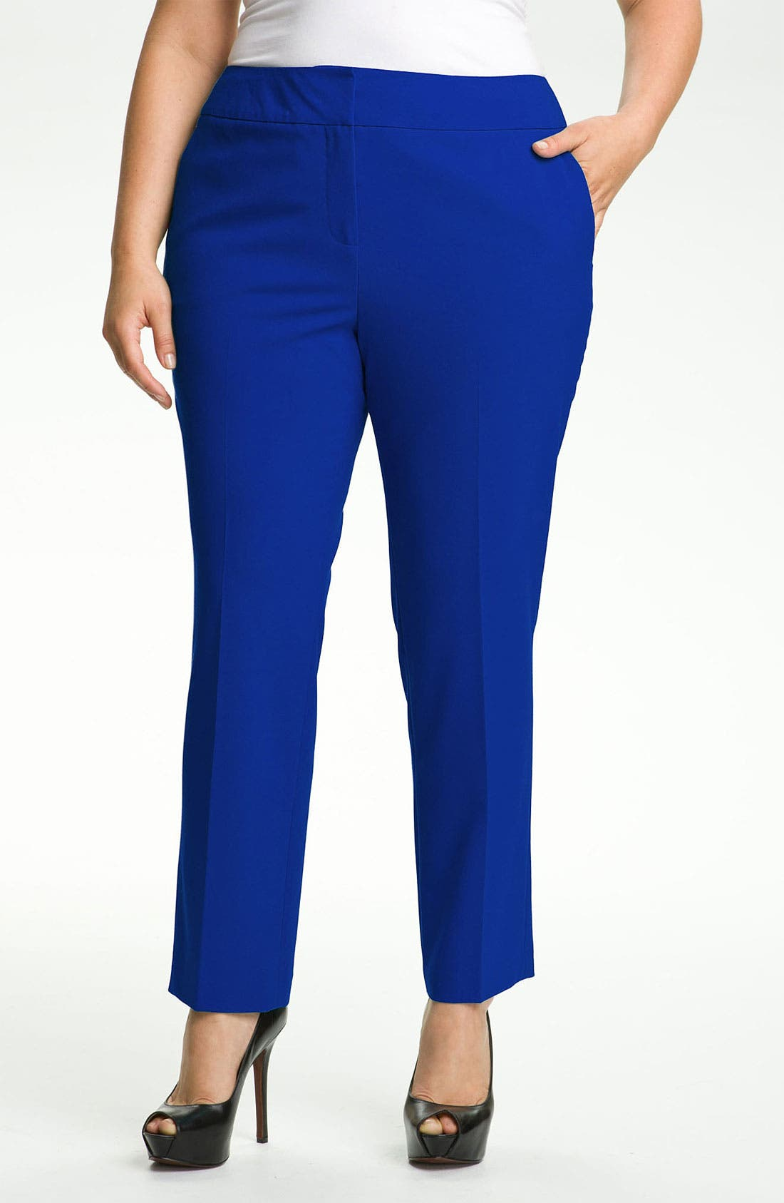 Alternate Image 1 Selected - Vince Camuto Ankle Pants (Plus Size)