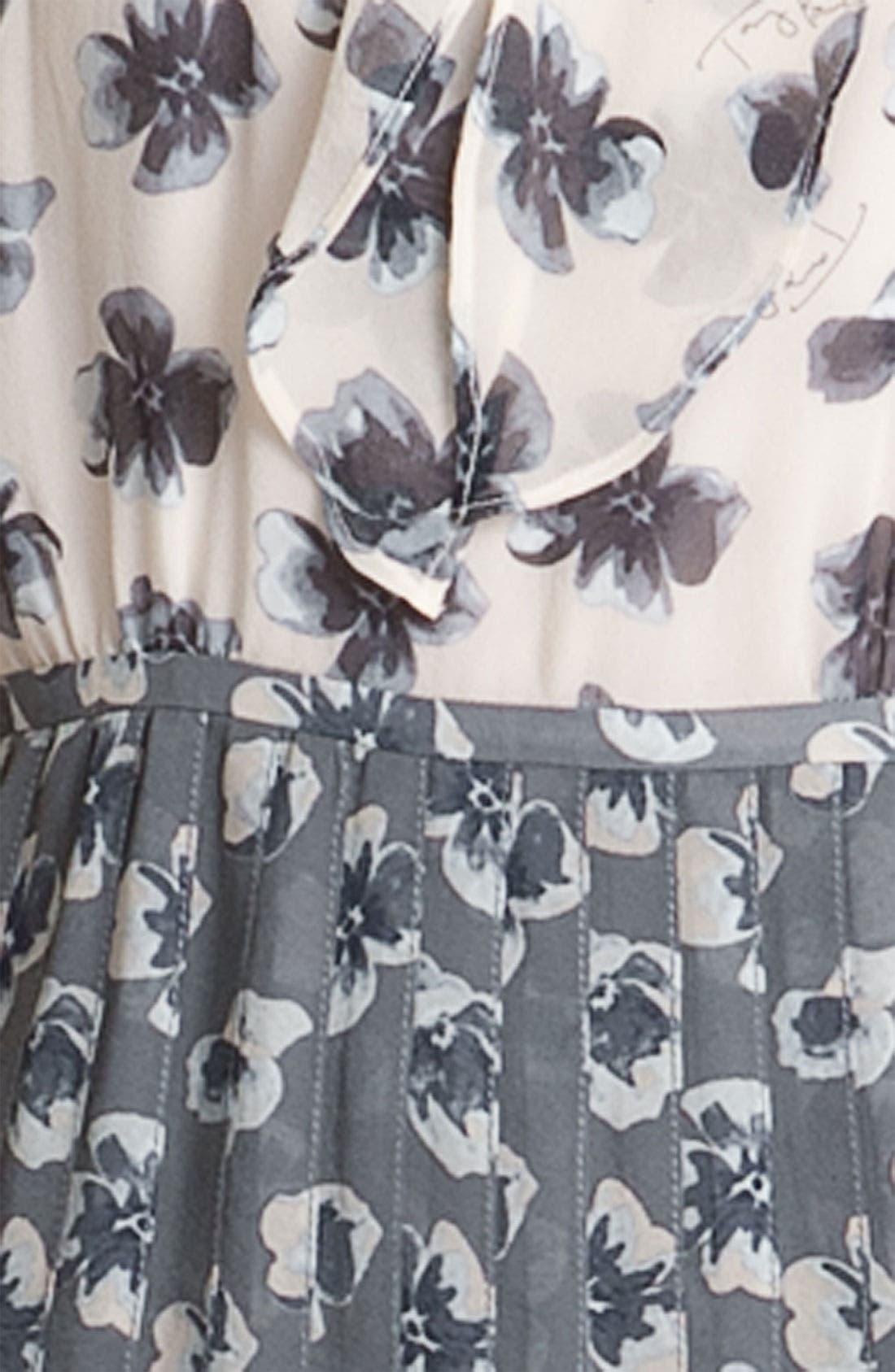 Alternate Image 3  - Tory Burch 'Cecilia' A-Line Silk Dress