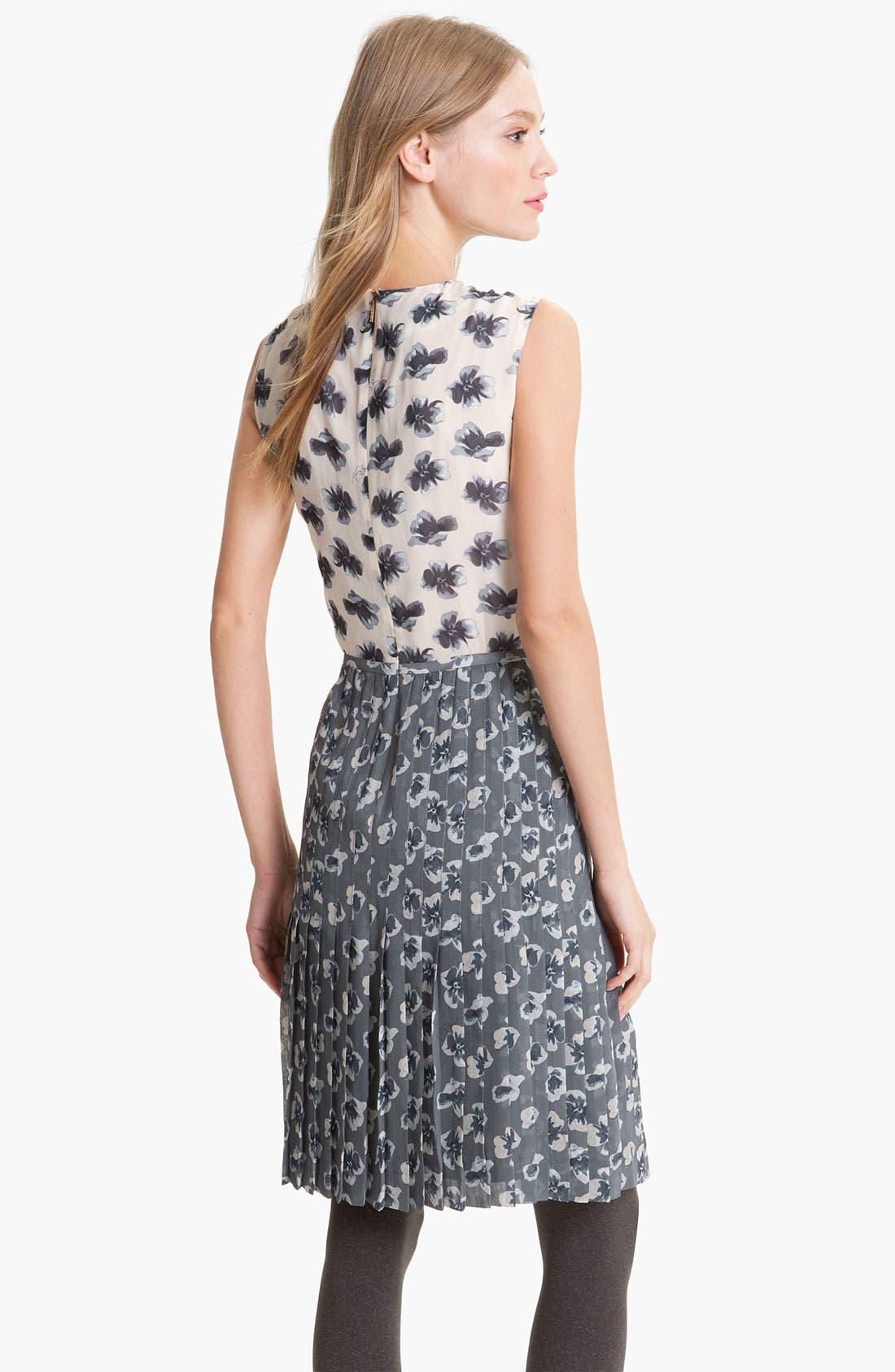 Alternate Image 2  - Tory Burch 'Cecilia' A-Line Silk Dress