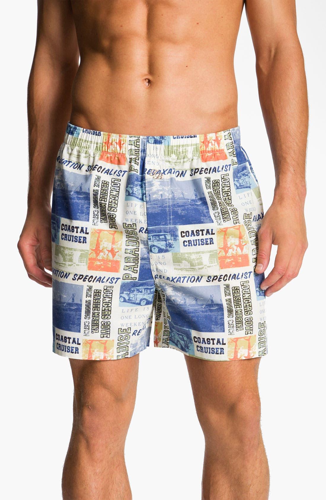 Main Image - Tommy Bahama 'World Traveler' Boxers
