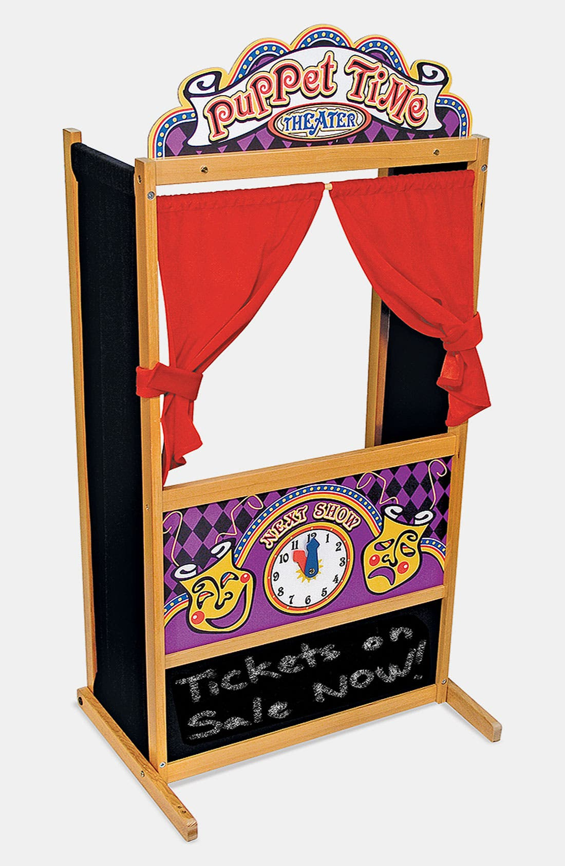 Alternate Image 2  - Melissa & Doug 'Puppet Time' Theater (Online Only)