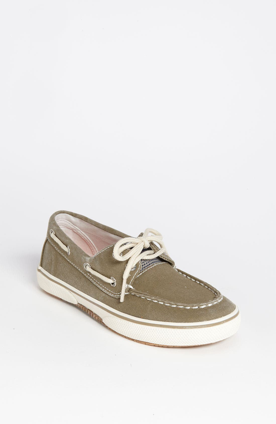 Alternate Image 1 Selected - Sperry Top-Sider® 'Halyard' Boat Shoe (Walker, Toddler, Little Kid & Big Kid)