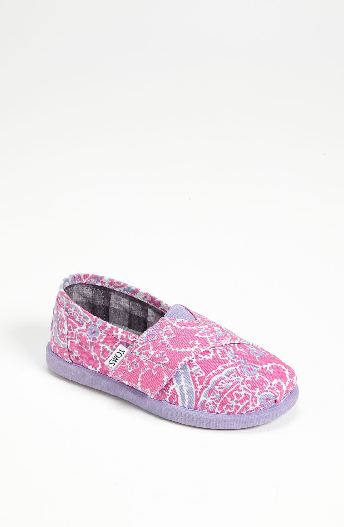 Alternate Image 1 Selected - TOMS 'Classic Tiny - Paisley' Slip-On (Baby, Walker & Toddler)