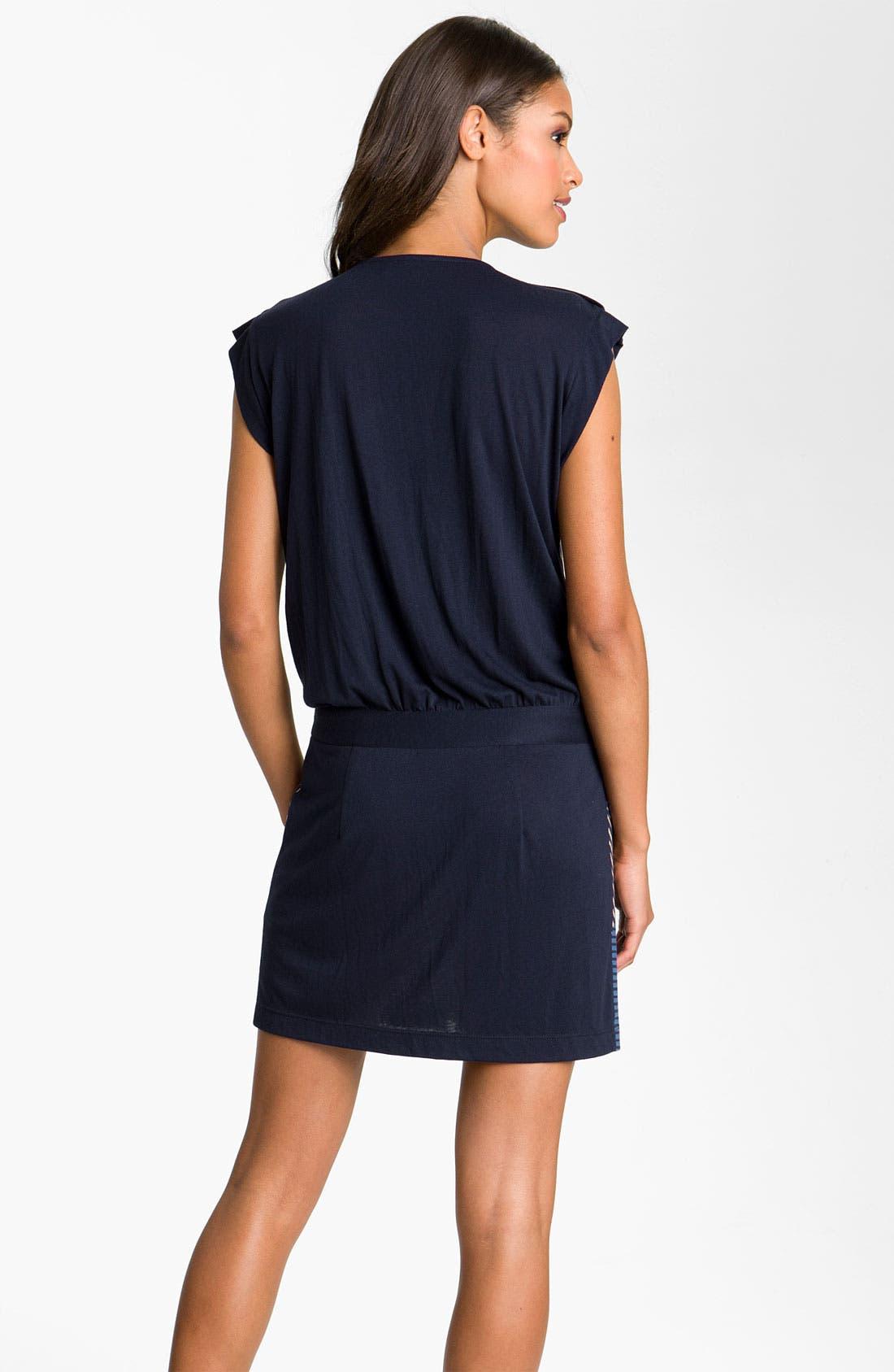 Alternate Image 2  - Julie Dillon Front Zip Drop Waist Dress