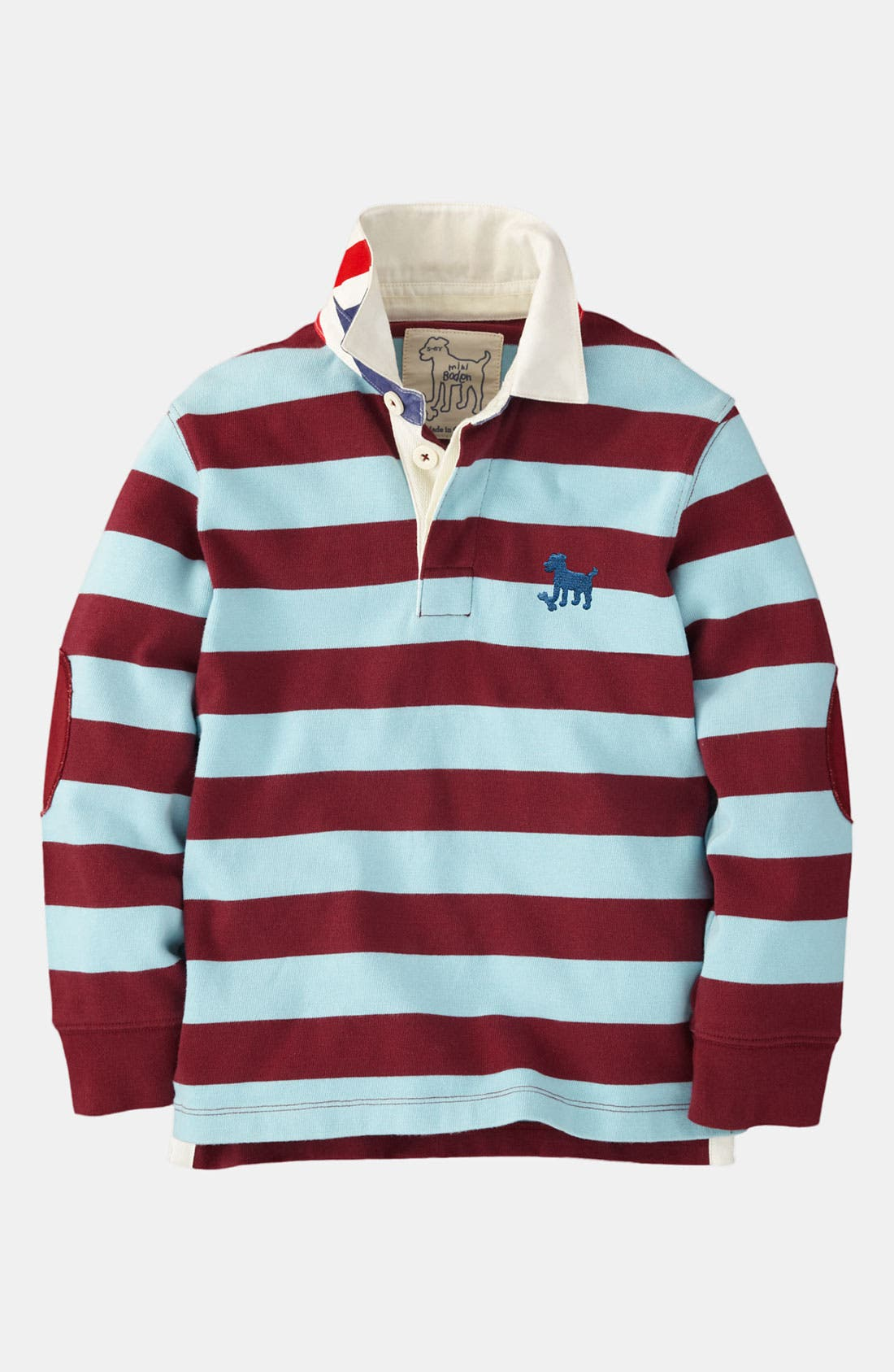 Alternate Image 1 Selected - Mini Boden Rugby Shirt (Toddler)