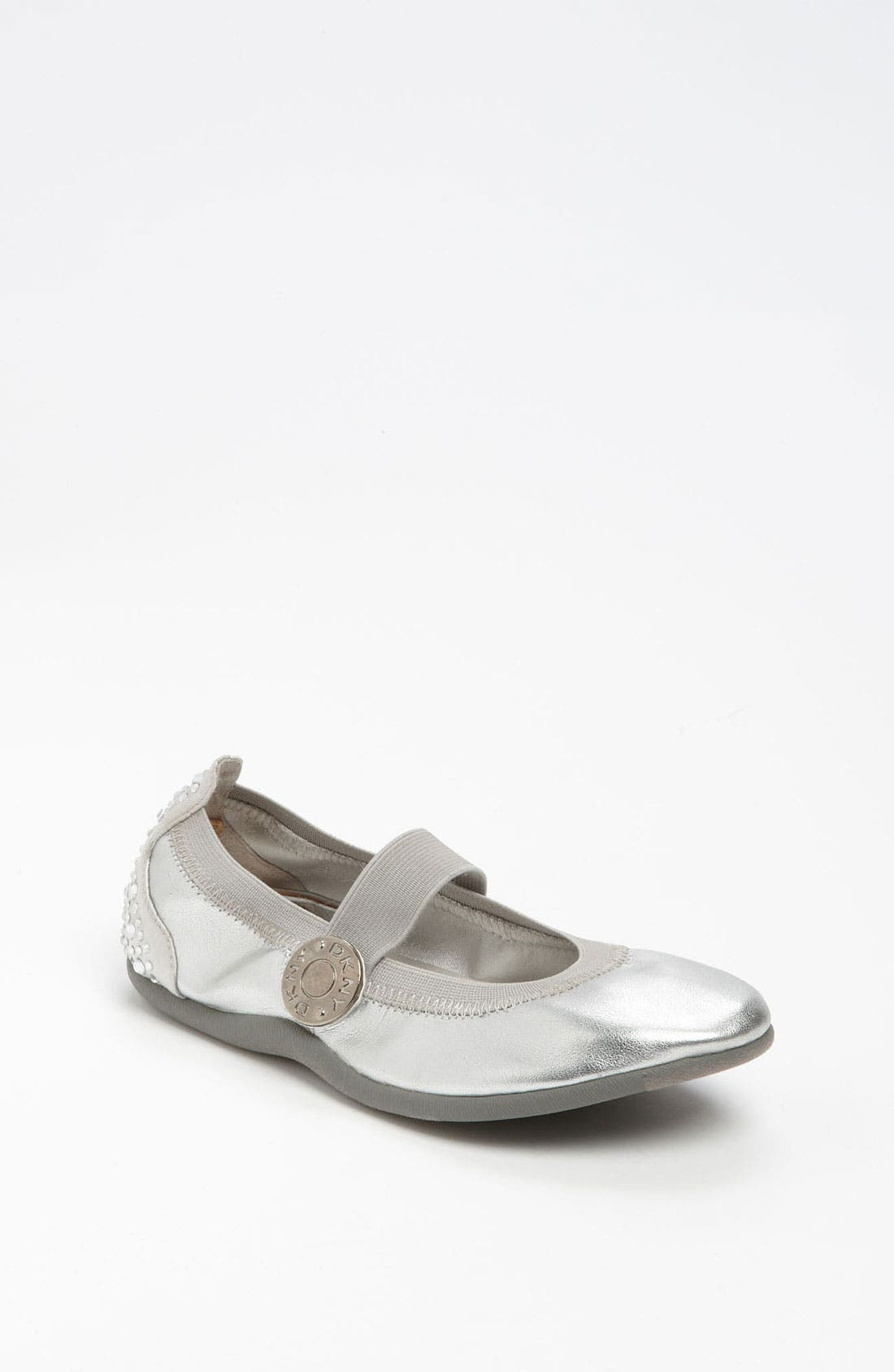 Alternate Image 1 Selected - DKNY 'Rivington' Flat (Toddler, Little Kid & Big Kid)