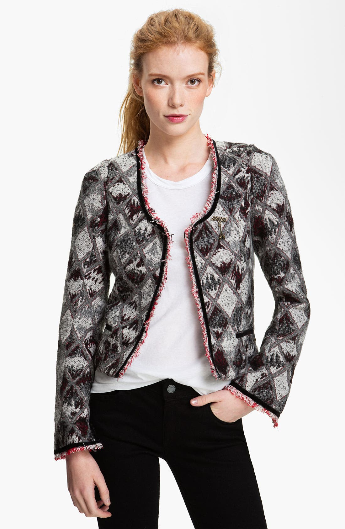 Alternate Image 1 Selected - Maison Scotch Argyle Jacket